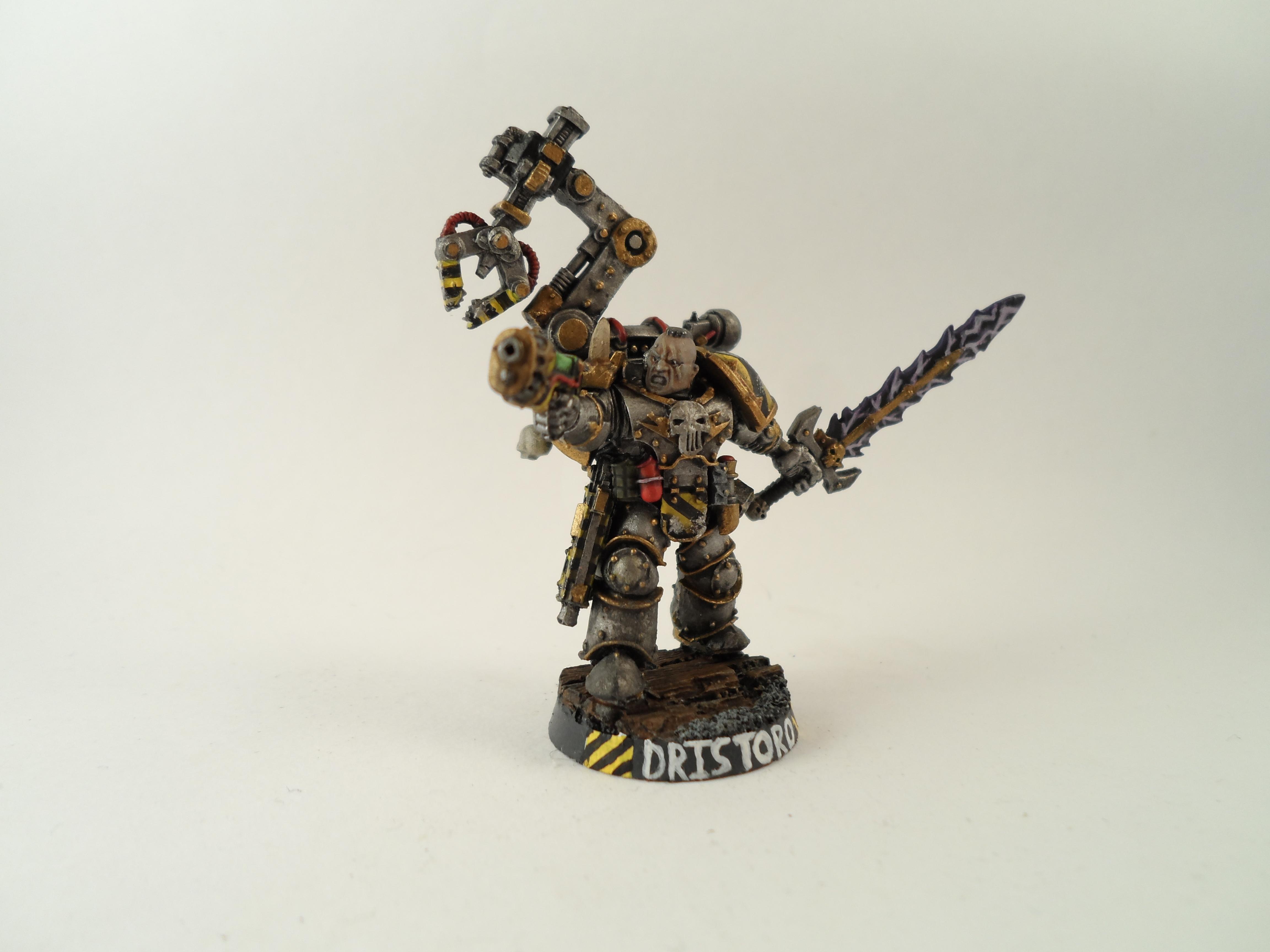 Iron Warriors Lieutenant Dristoro