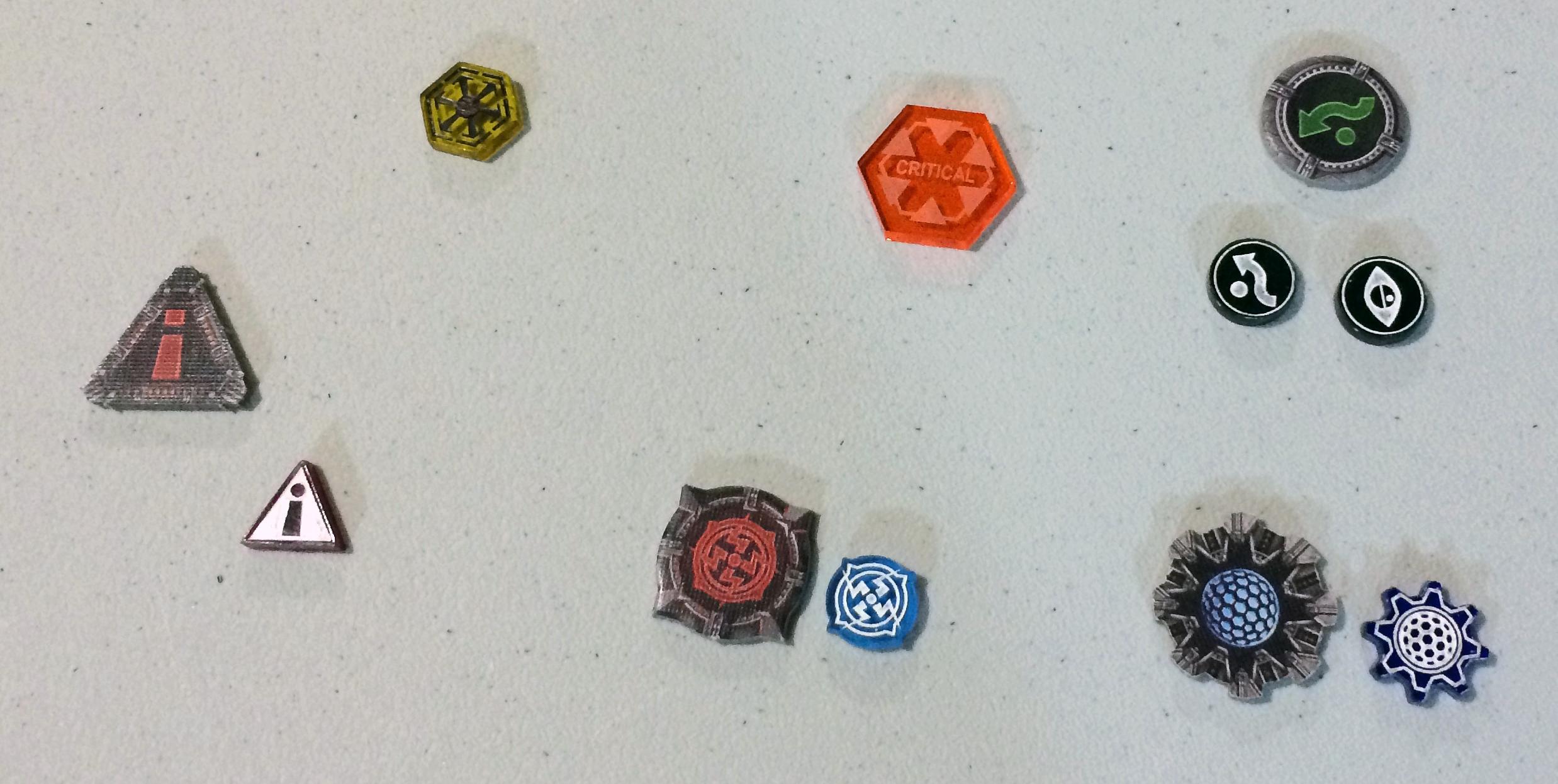 custom x-wing tokens