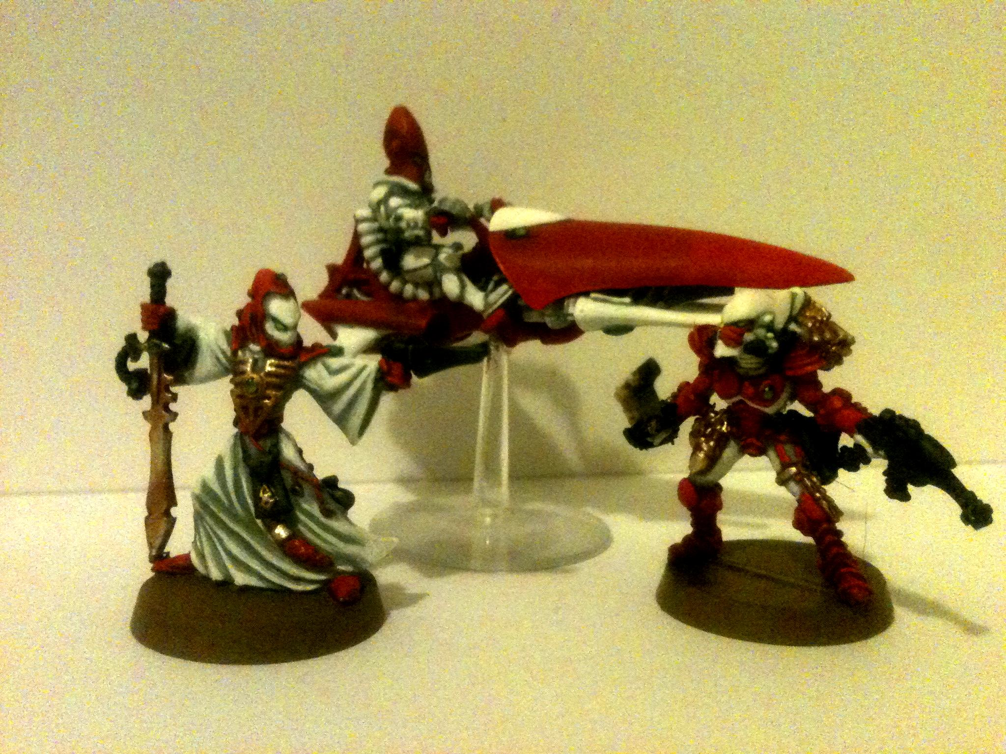 Eldar, Jetbike, Striking Scorpion, Warlock