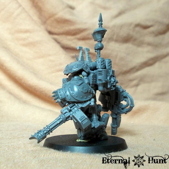 Behemoths, Centurions, Chaos, Chaos Space Marines, Conversion, Counts As, Khorne, Khorne's Eternal Hunt, Obliterators, Warhammer 40,000, Work In Progress, World Eaters
