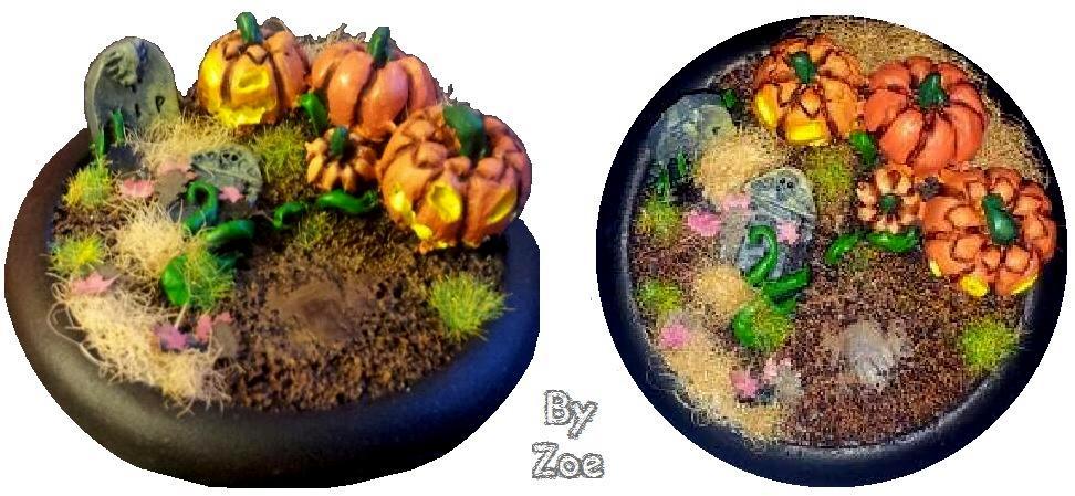 Base, Halloween, Pumpkin