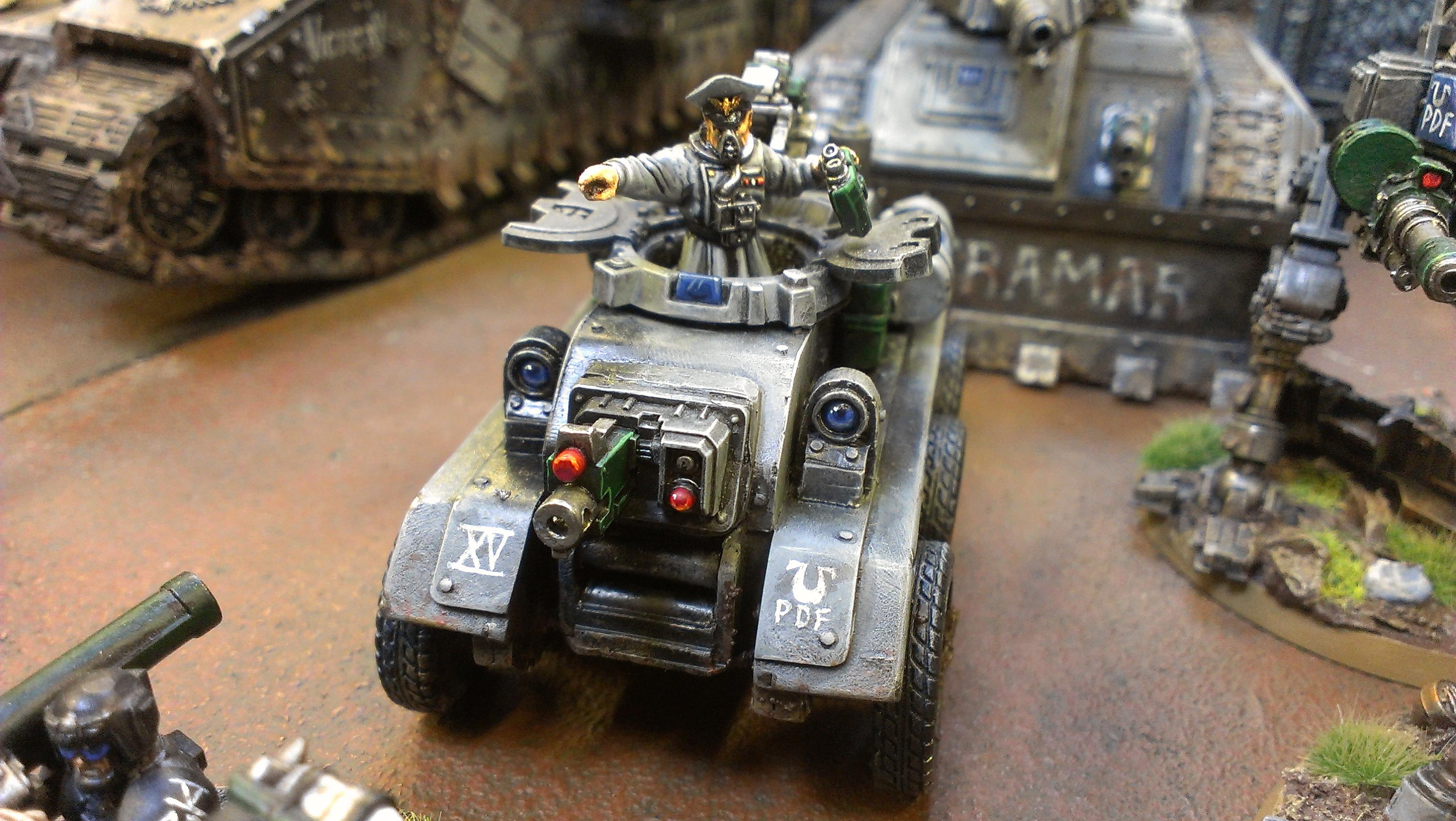 Apocalypse, Armored Car, Battle Report, Cadians, Fully Painted, Imperial Guard, Tankette, Tyranids