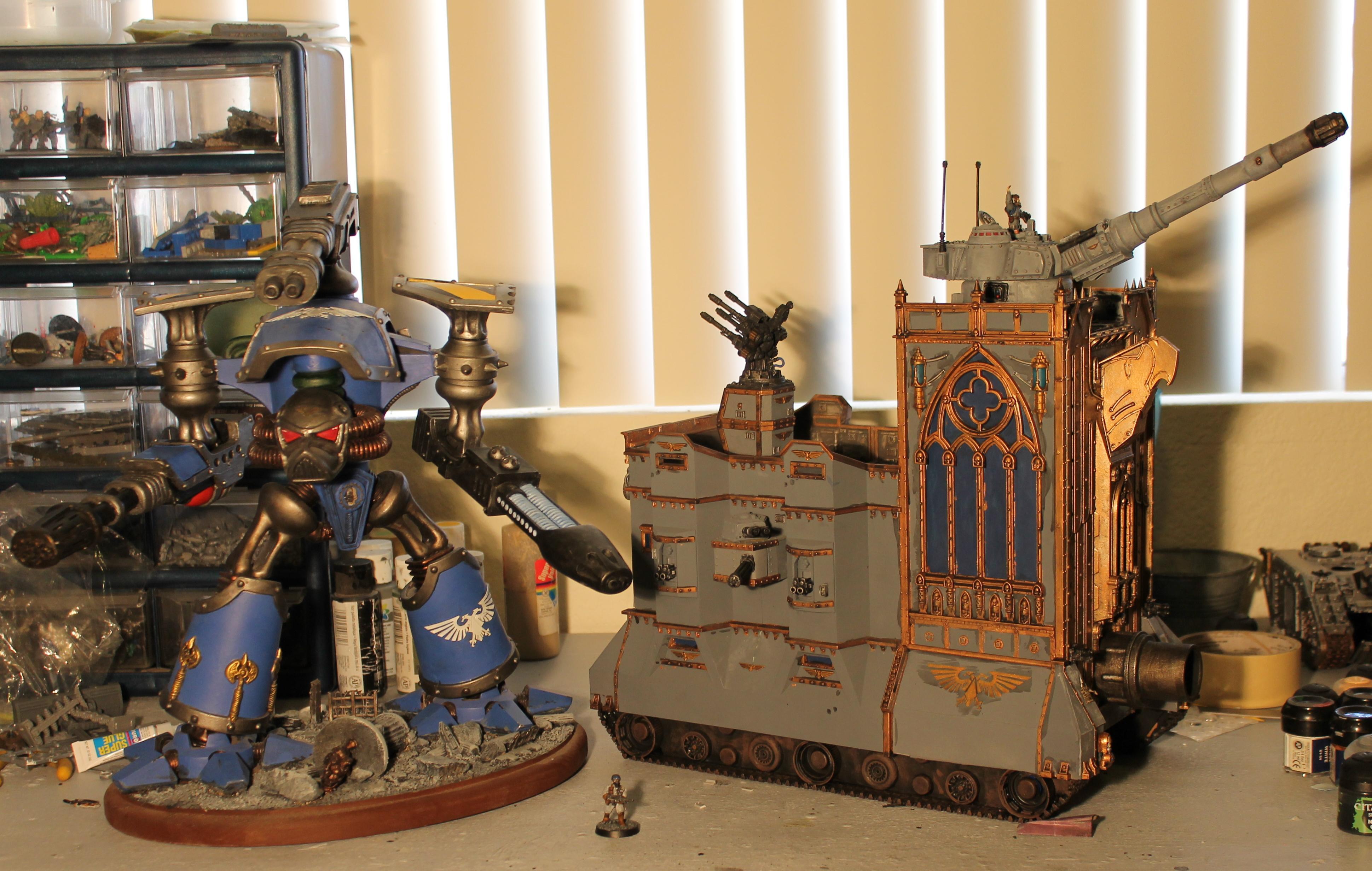 Imperial Guard, Leviathan, Reaver, Super-heavy, Titan