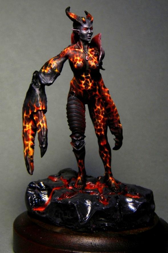Daemons, Lava, Slaanesh, Spirit Of Fire