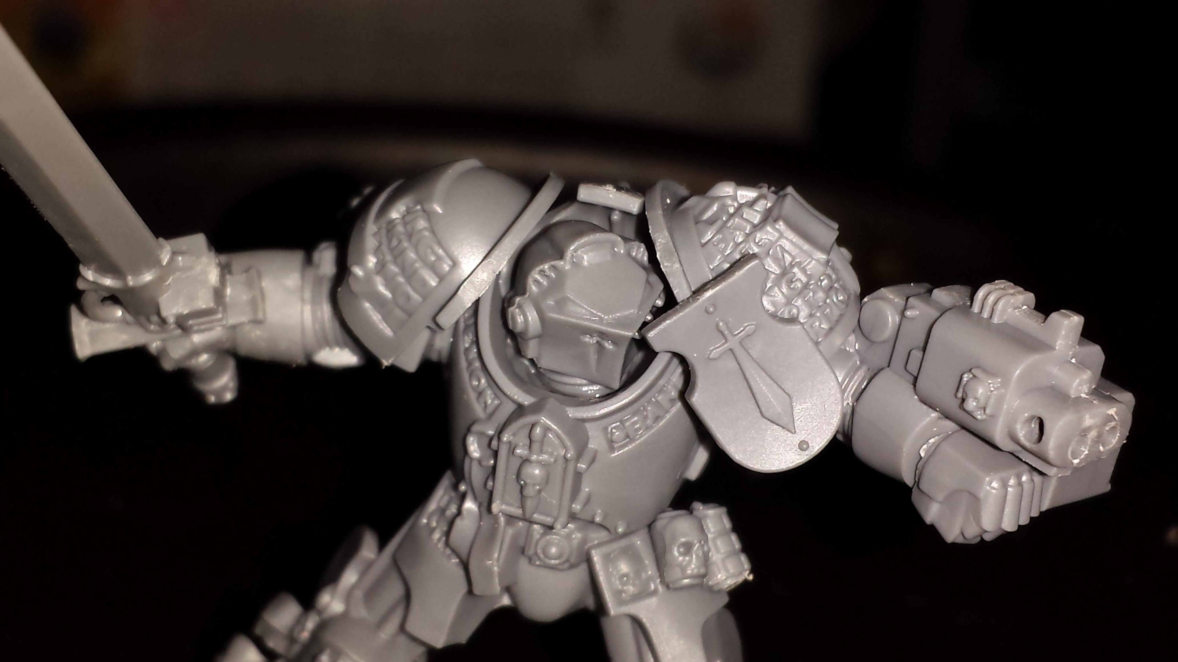 Deadshot, Grey Knight Terminators, Grey Knights, Nemesis Daemon Hammer, Nemesis Force Sword, Psilincer, Psyker, Stormbolter, Tactical Dreadnought Armour, Terminator Armor, Terminator Squad