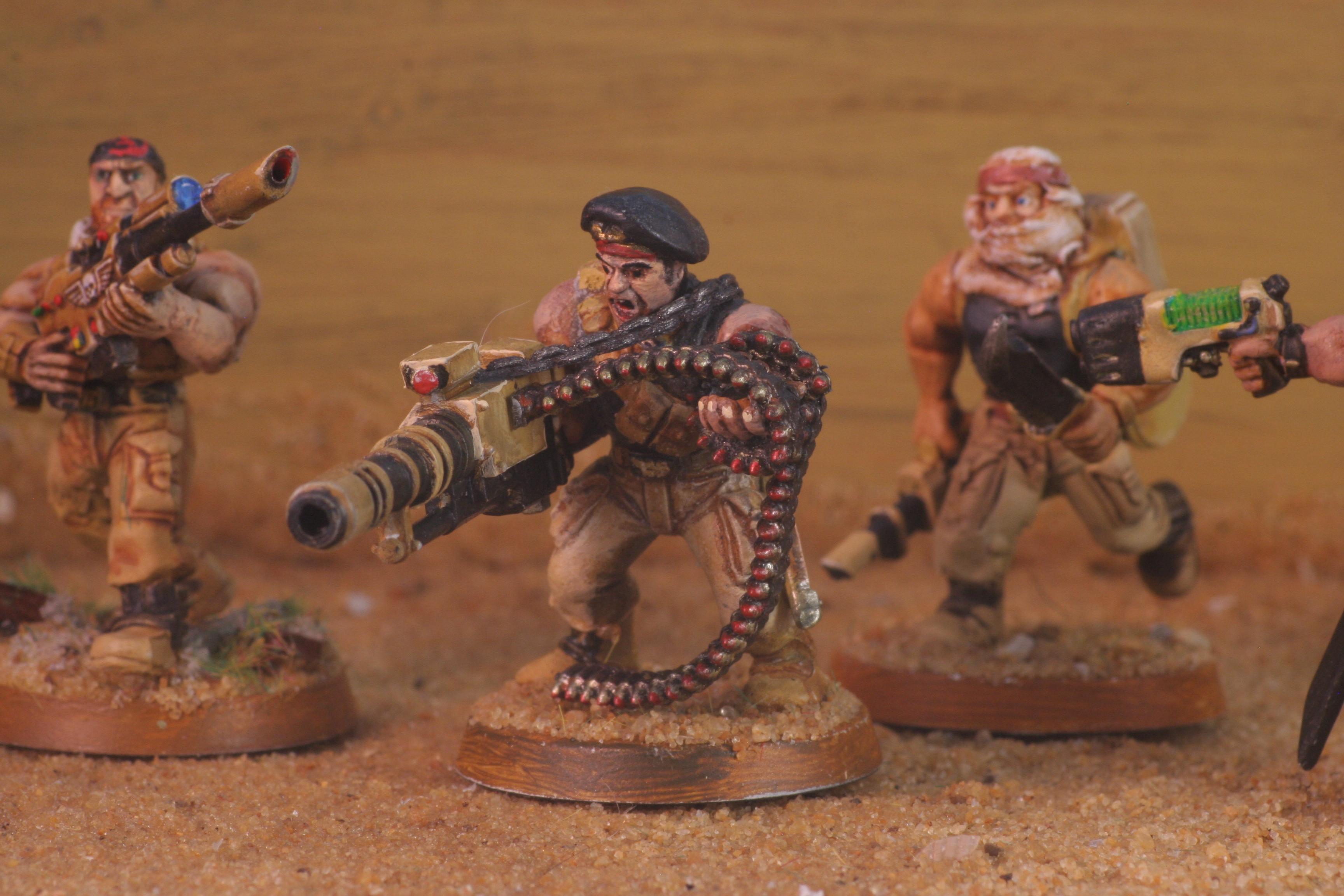 Catachan, Desert, Imperial Guard, Veteran