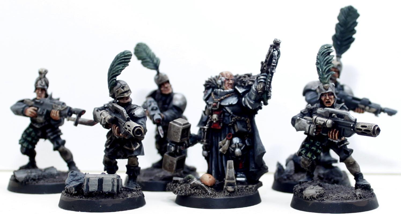 Inquisitorial Henchmen WIP
