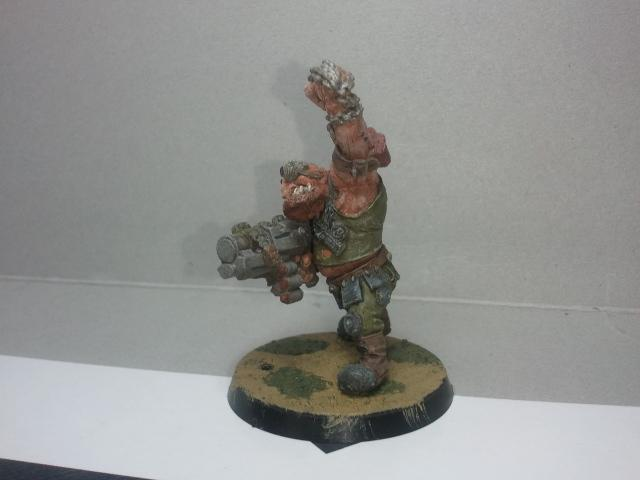 First Ogryn! Rebuilt and Repainted!