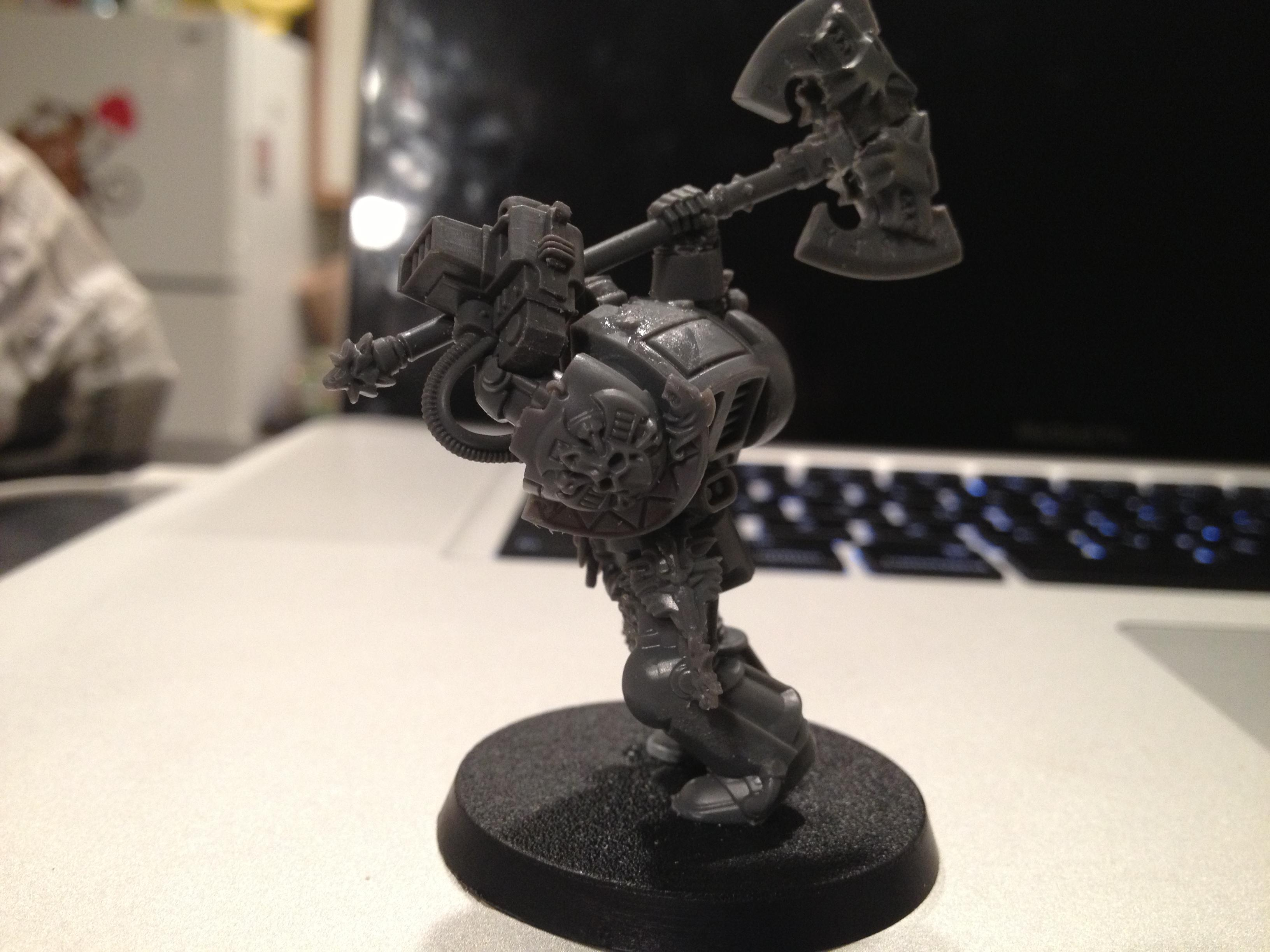 Conversion, Kitbash, Space Wolves, Wulfen
