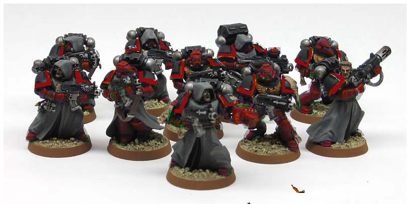 Crimson Fists Concept
