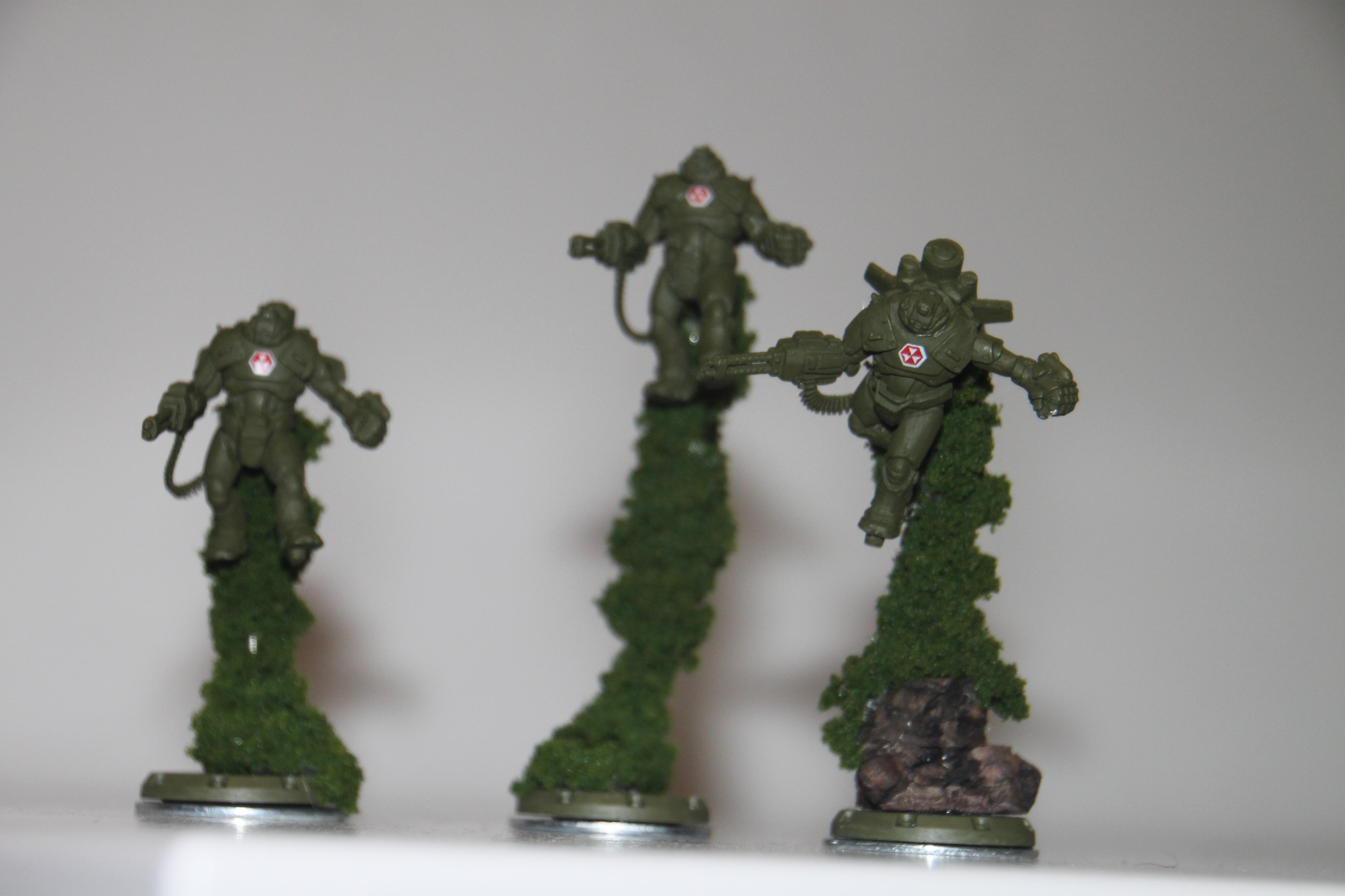 Allies, Conversion, Dust, Flyer, Grim Reapers, Iron Man, Jet Pack