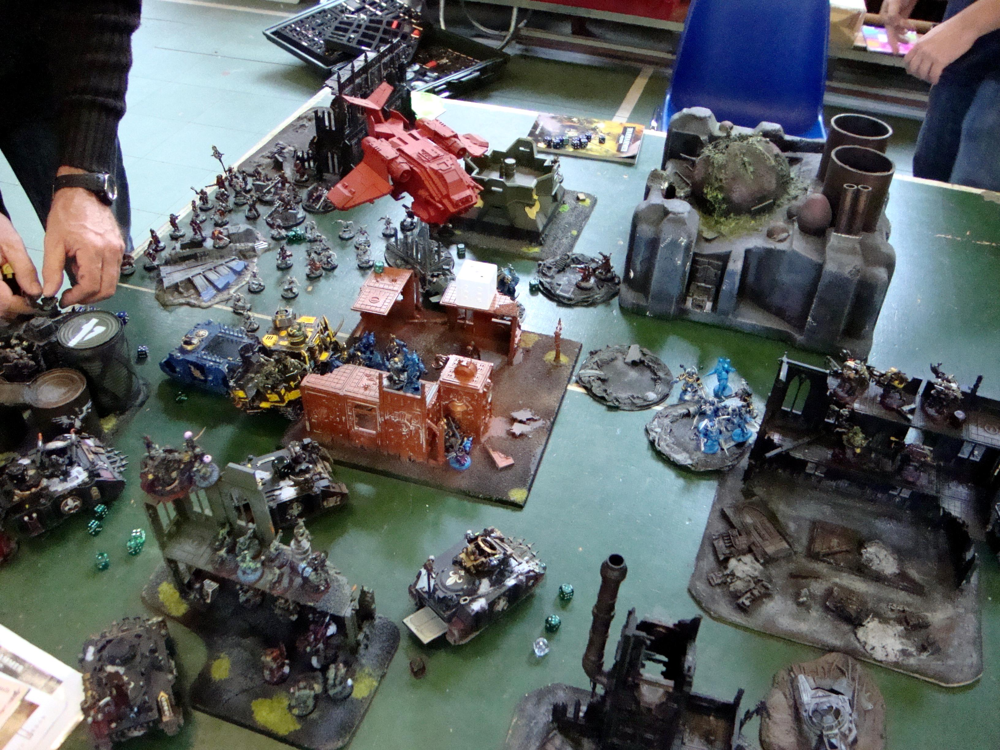 Battle Report, Warhammer 40,000
