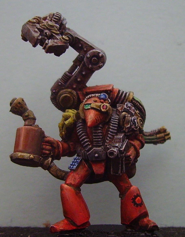 Rogue Trader, Space Marines, Tech Marine