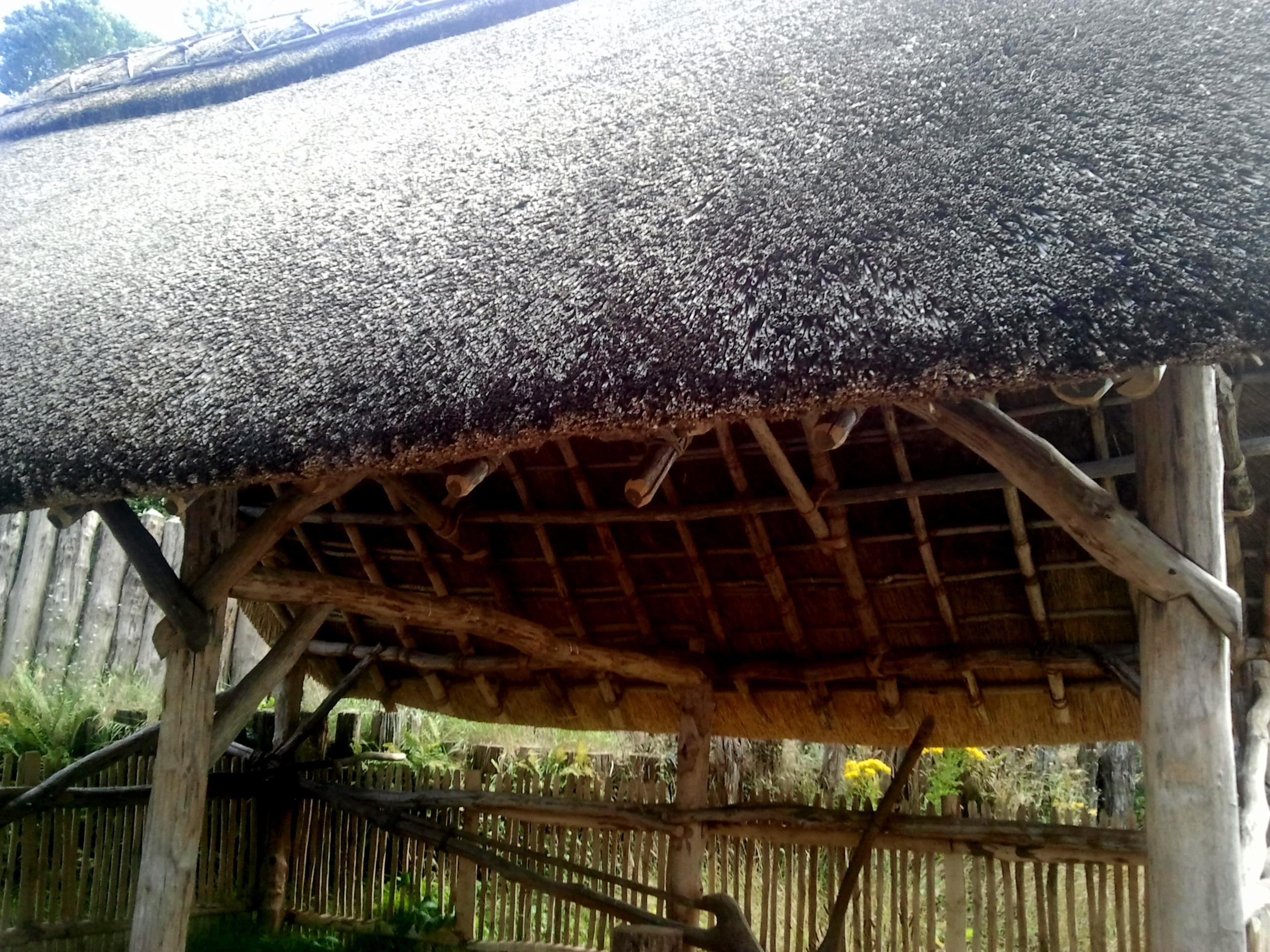 Stockade roof