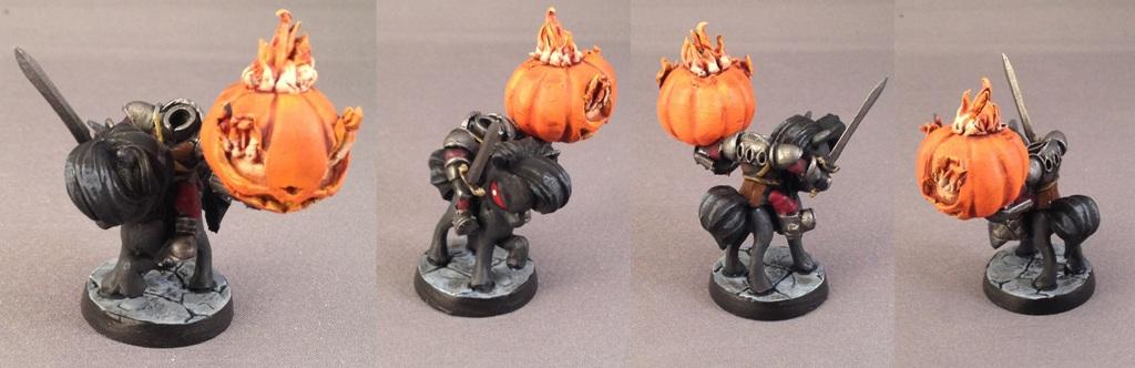 Chibi, Headless Horseman, Impact! Miniatures