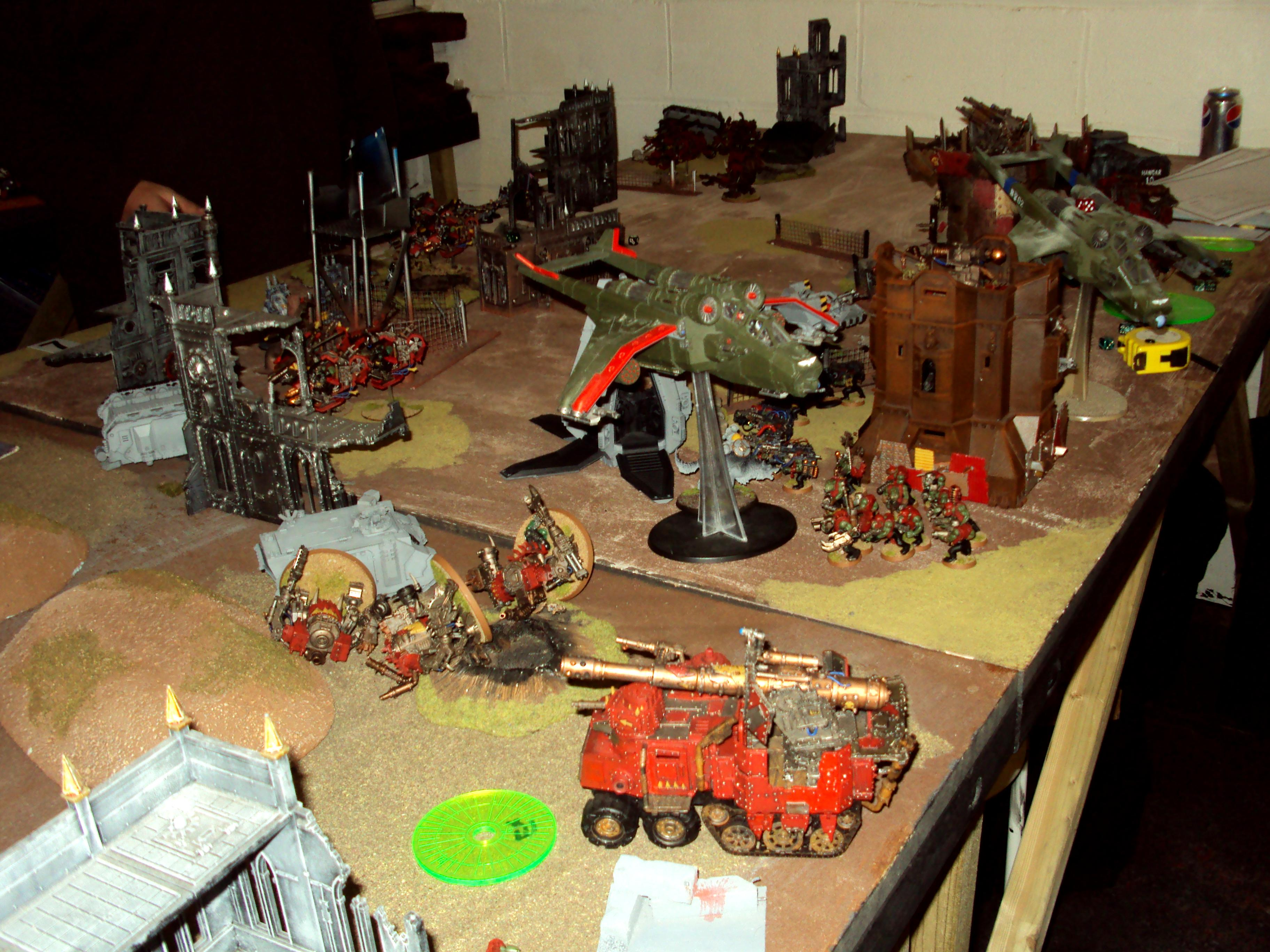 30k, Animosity, Imperial Guard, Orks, Space Wolves, The Great Crusade