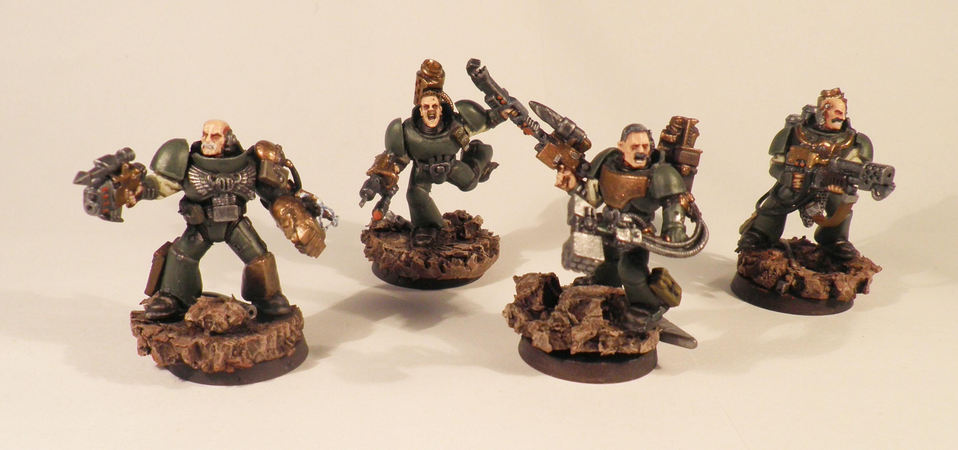 Punk, Space Marines, Steam, Steampunk, Warhammer 40,000