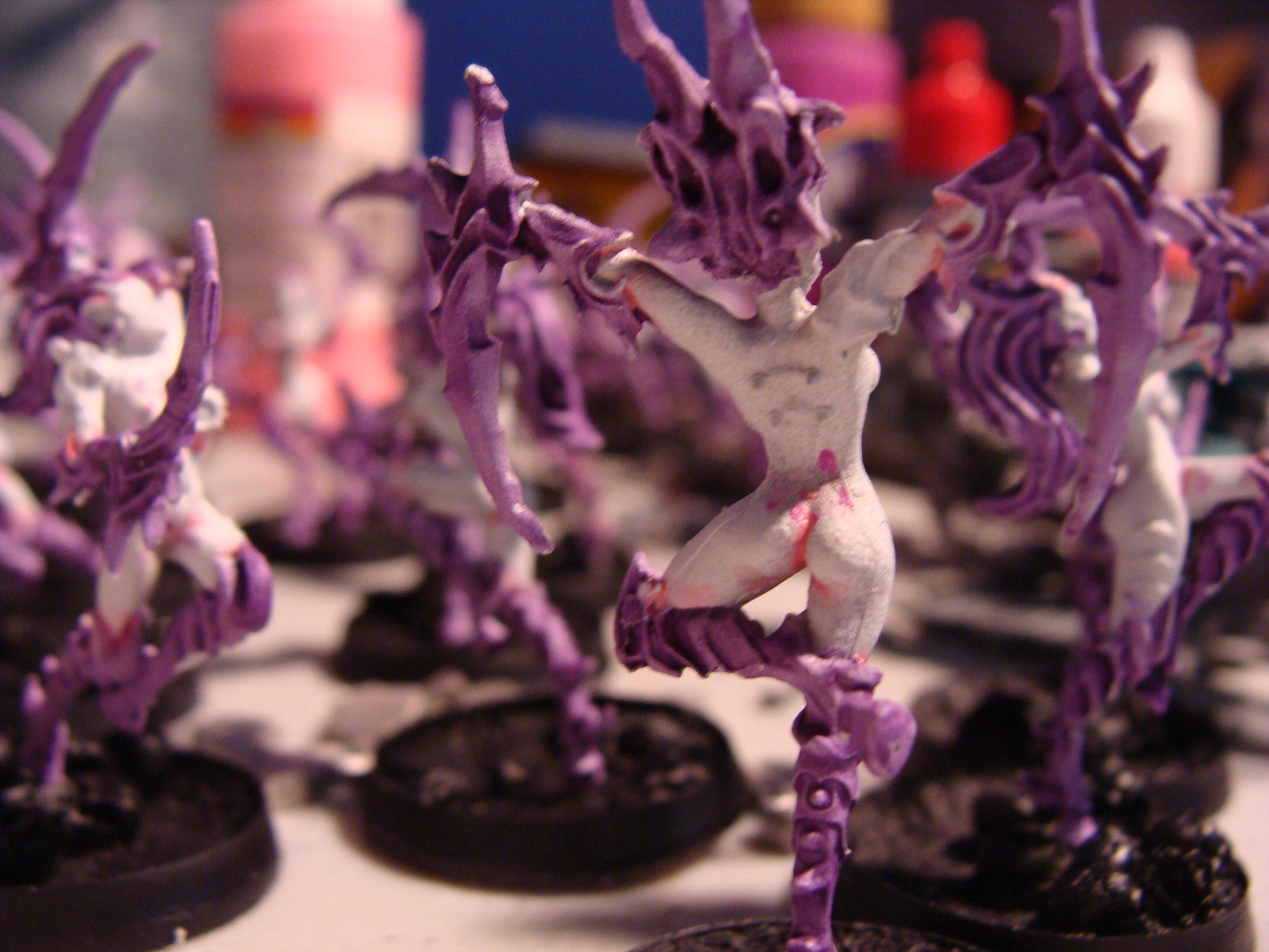 Daemon Princess, Daemonettes, Slaanesh, Work In Progress