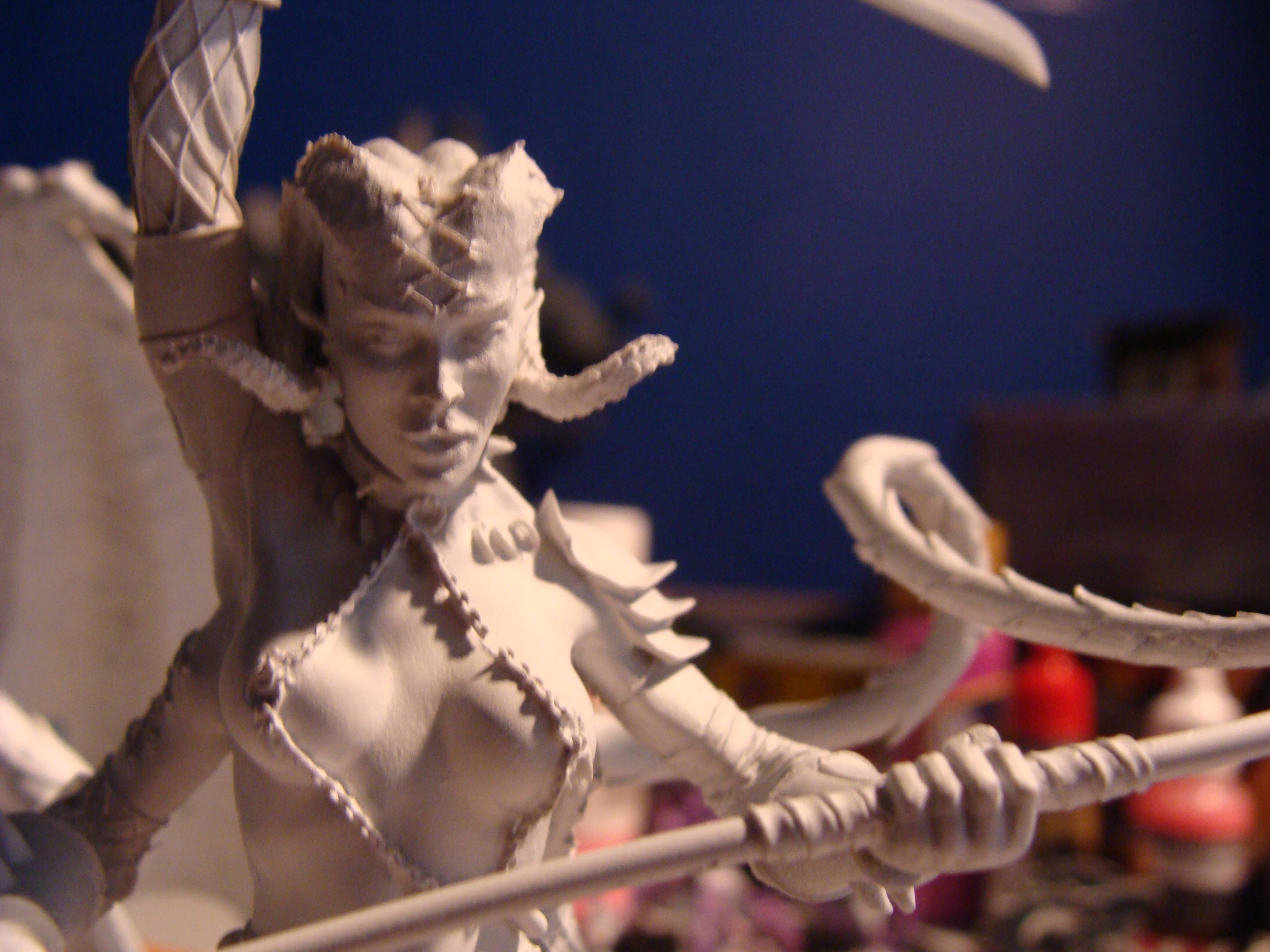 Daemon Princess, Daemonettes, Slaanesh, Work In Progress