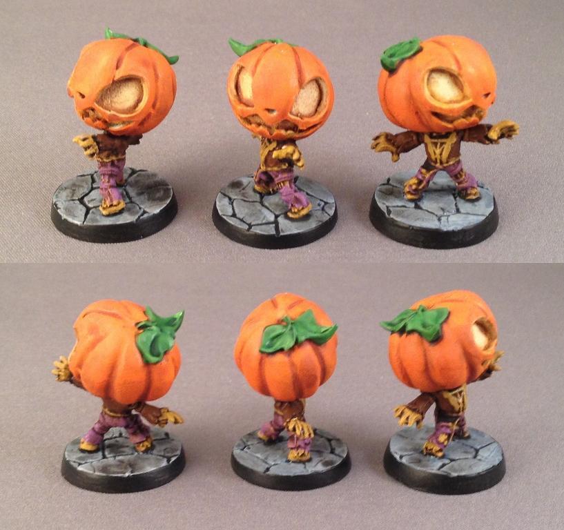 Chibi, Impact! Miniatures, Pumpkinhead