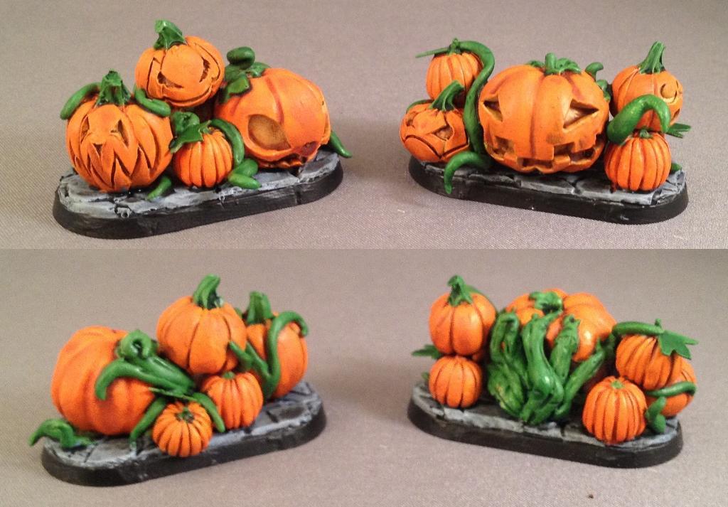 Chibi, Pumpkin Wall, Pumpkin Wall