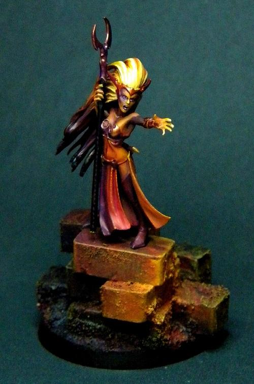 Dark Elves, Object Source Lighting, Sorceress