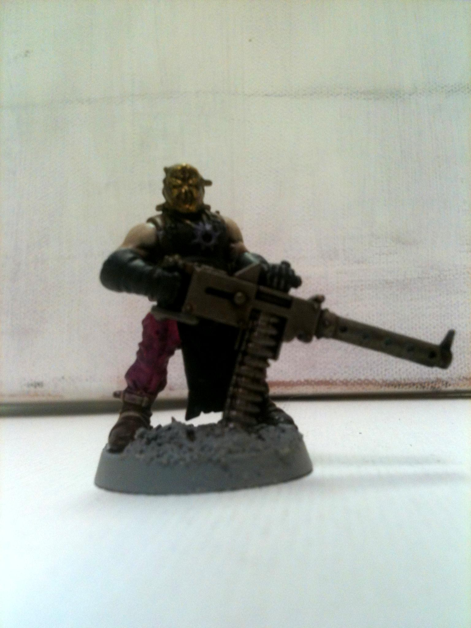 Chaos, Cultist, Cultist Heavy Stubber