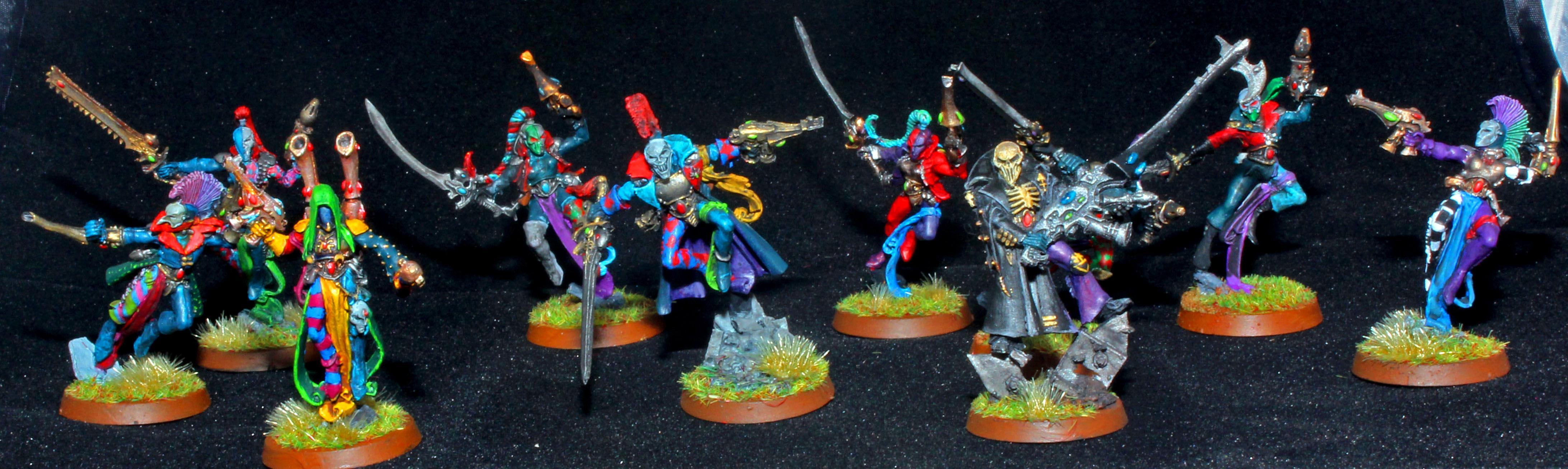 Dark Eldar, Death Jester, Harlequins, Shadowseer, Troupe Master