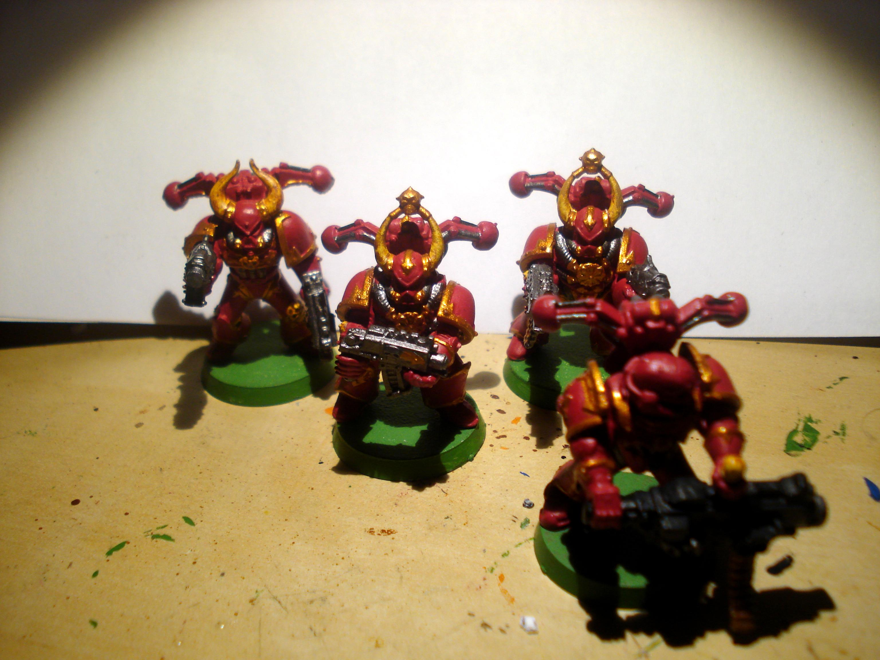 Chaos Space Marines, chaos marines