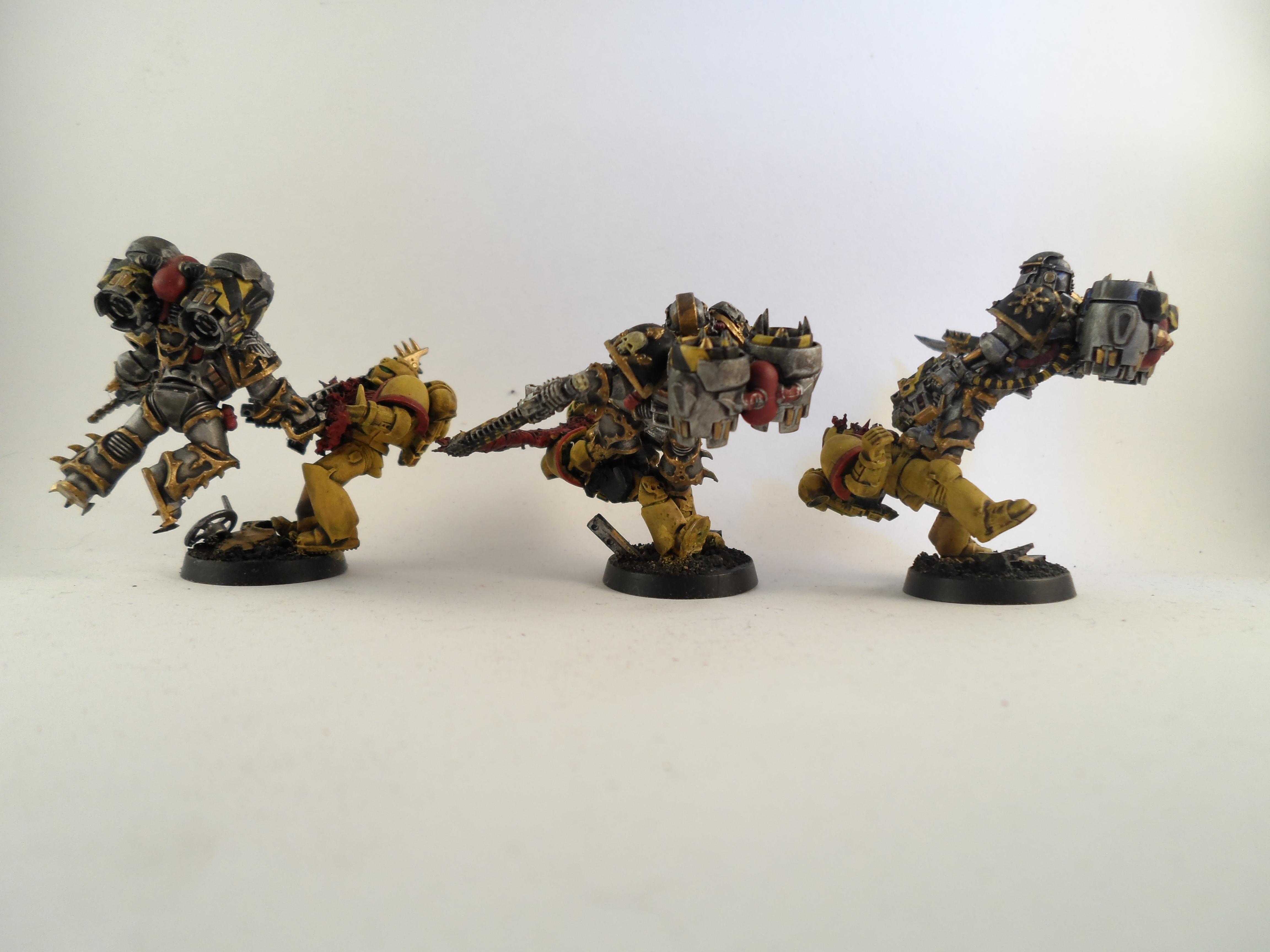 Assault, Chaos Space Marines, Raptors, Work In Progress