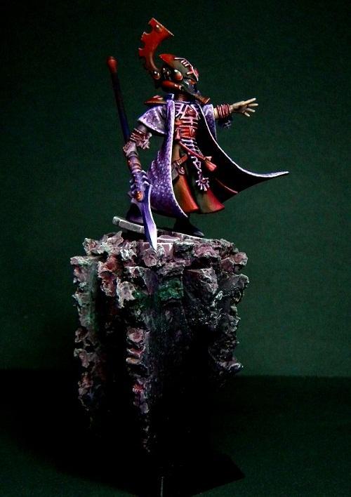 28mm, Based, Eldar, Painted, Warhammer 40,000
