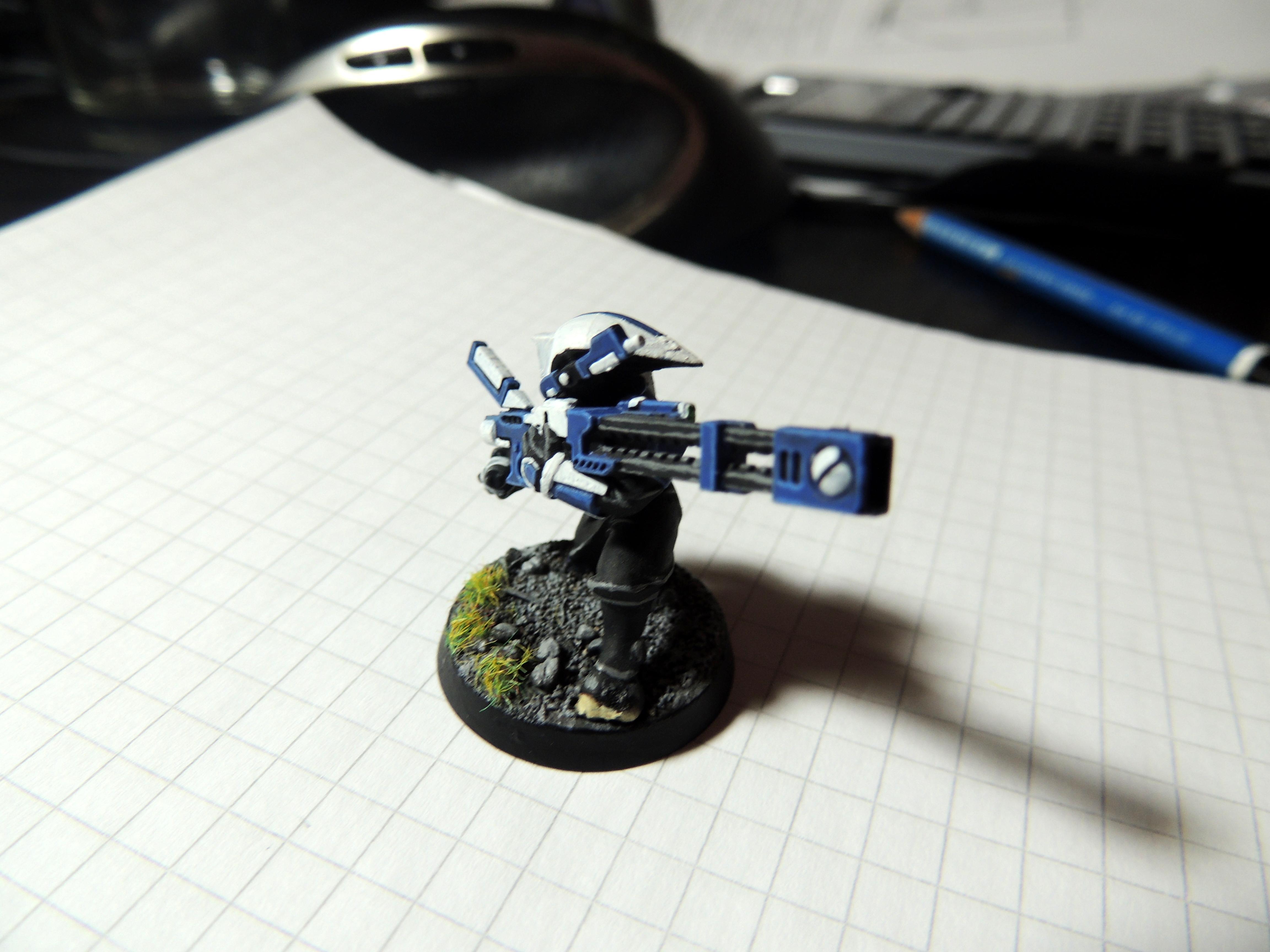 Blue, Pathfinders, Tau