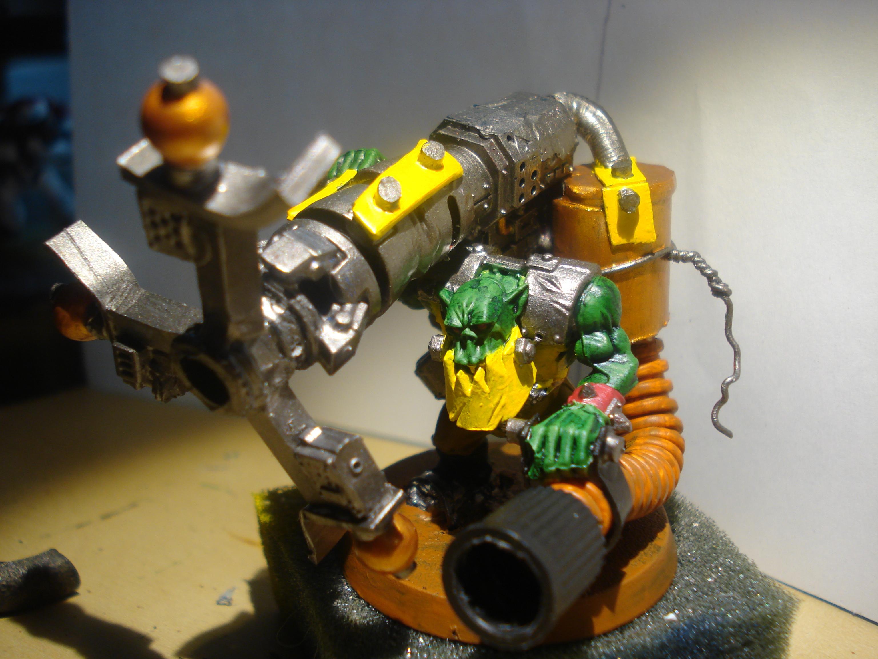 Orks, Scratch Build, Shokk Attack Gun