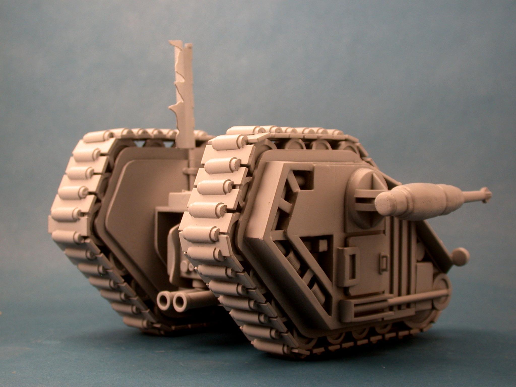 1987, Hellfire, Land Raider, Rogue Trader, Scratch Build, Warhammer 40,000