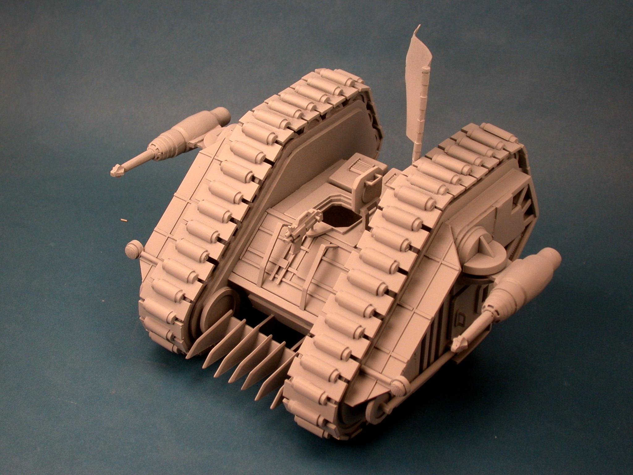 1987, Hellfire, Land Raider, Rogue Trader, Scratch Build, Warhammer 40,000