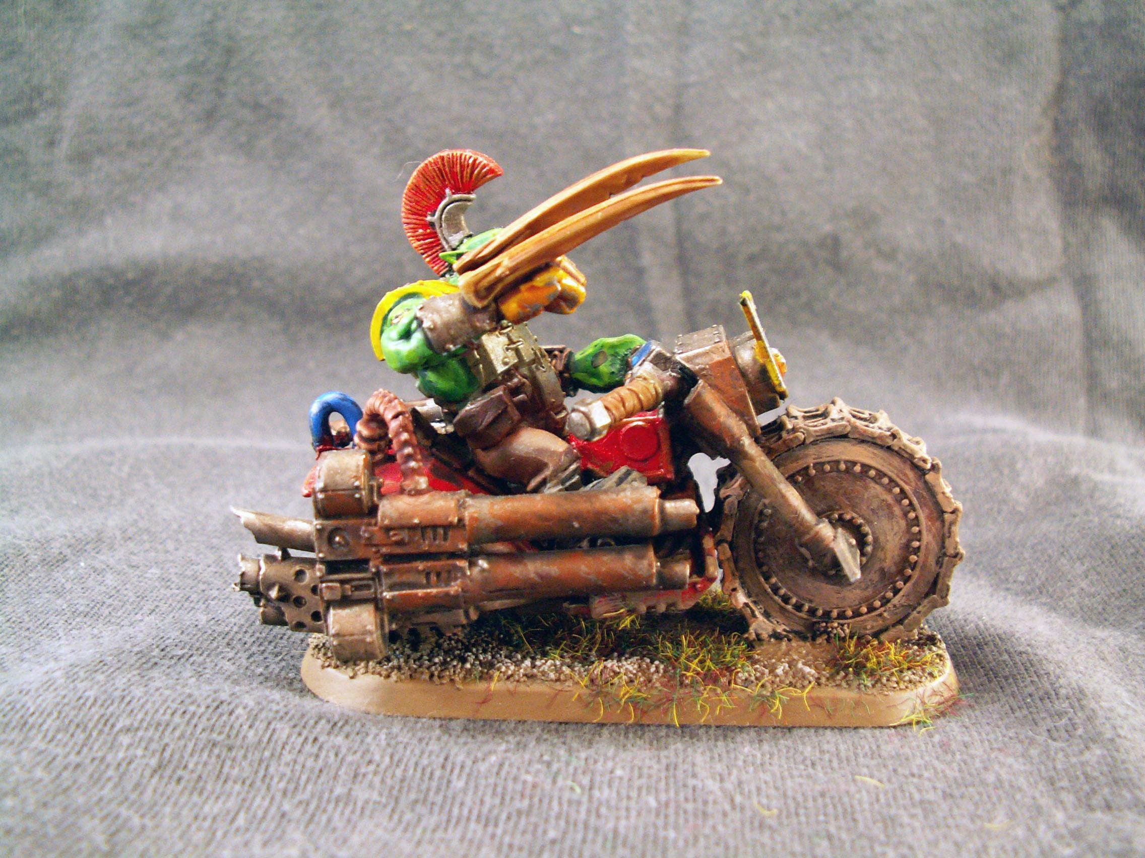 Bike, Nob, Orks, Warhammer 40,000
