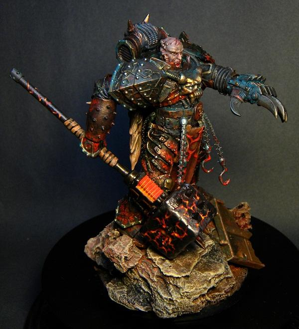 Awesome, Chaos Space Marines, Thunder Hammer, True Proportions, W40k, Warhammer 40,000