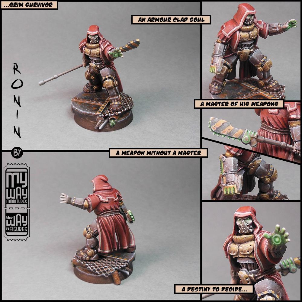 Admech, Custom, Imperium, Mechanicus, Mercenary, My Way Miniatures, Myway, Naginata, Plasma, Ronin, Sculpting, Skitarii, Warhammer 40,000, Warhammer Fantasy