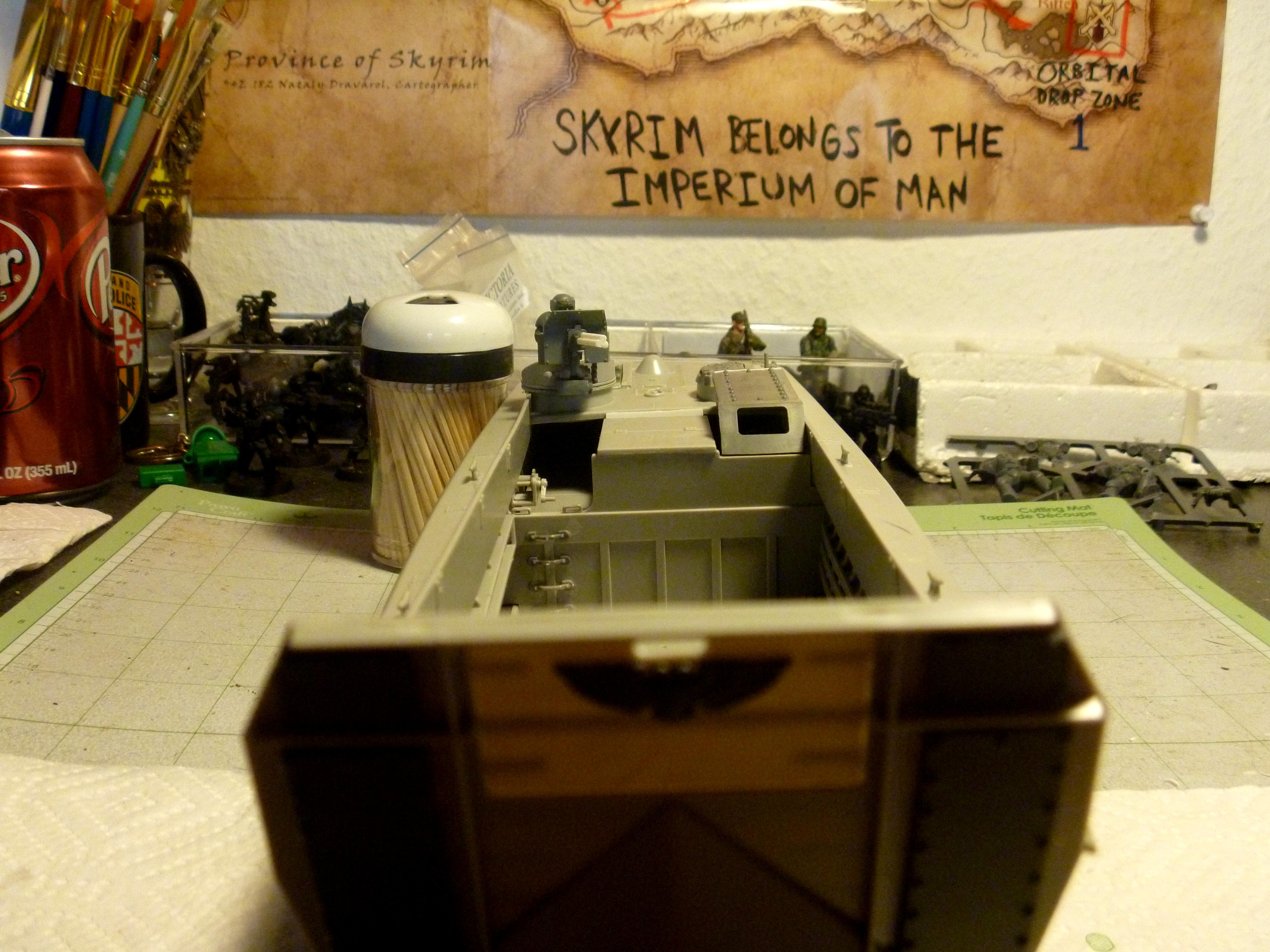 Boat, Imperial Guard, Imperial Navy, Landing Craft, Lcvp, Warhammer 40,000