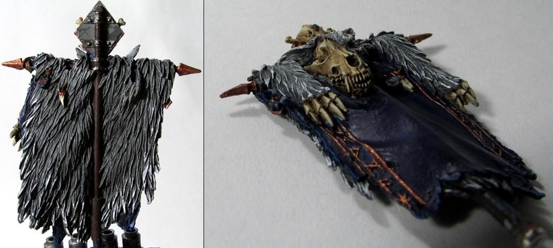 Banner, Forgrworld, Space Wolves, Venerable Dreadnought