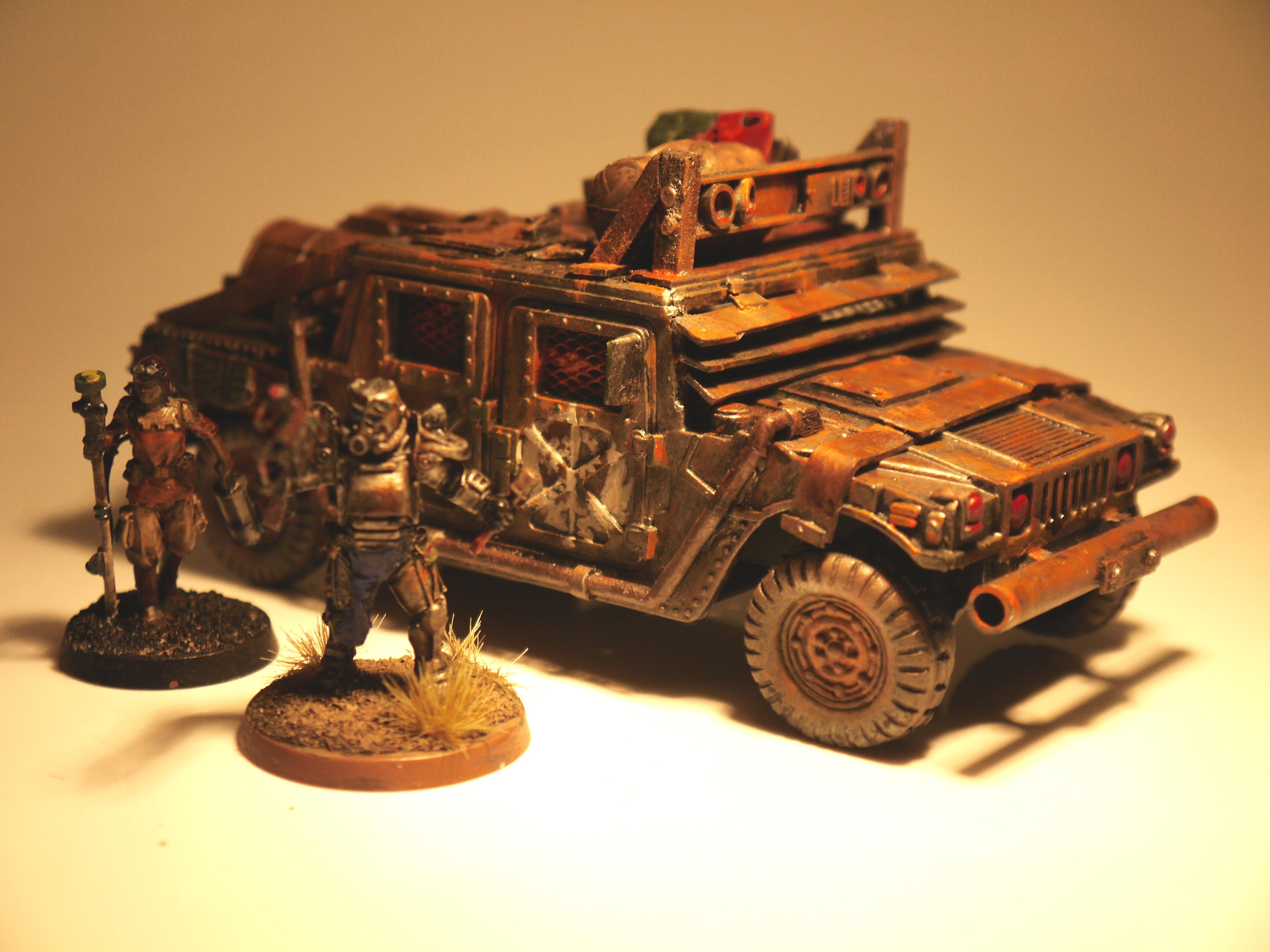 Army, Brother Vinni, Fallout, Fallout. Post Apocalyptic, Hummer, Humvee, Jeep, Modern, Post Apocalyptic, Post-apocalyptic