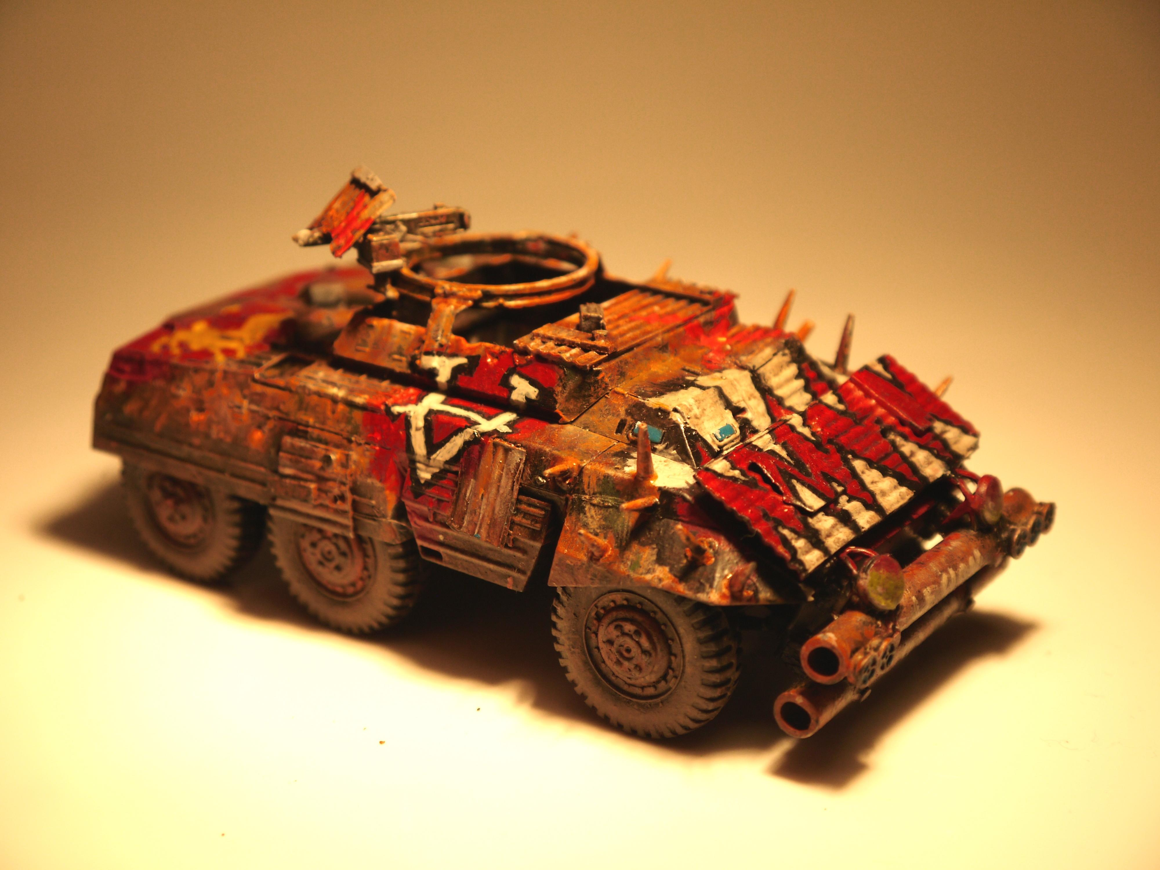 Armoured, Caesar's Legion, Fallout, Fallout. Post Apocalyptic, M8 Greyhound, Post Apocalyptic, Post-apocalyptic, Raider, Rust, Truck