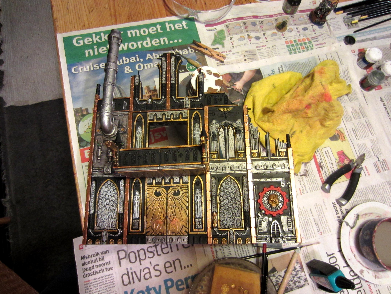 Games Workshop, Ruins, Terrain, Work In Progress