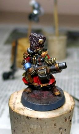 Grenade Launcher, Imperial Guard, Vostroyan