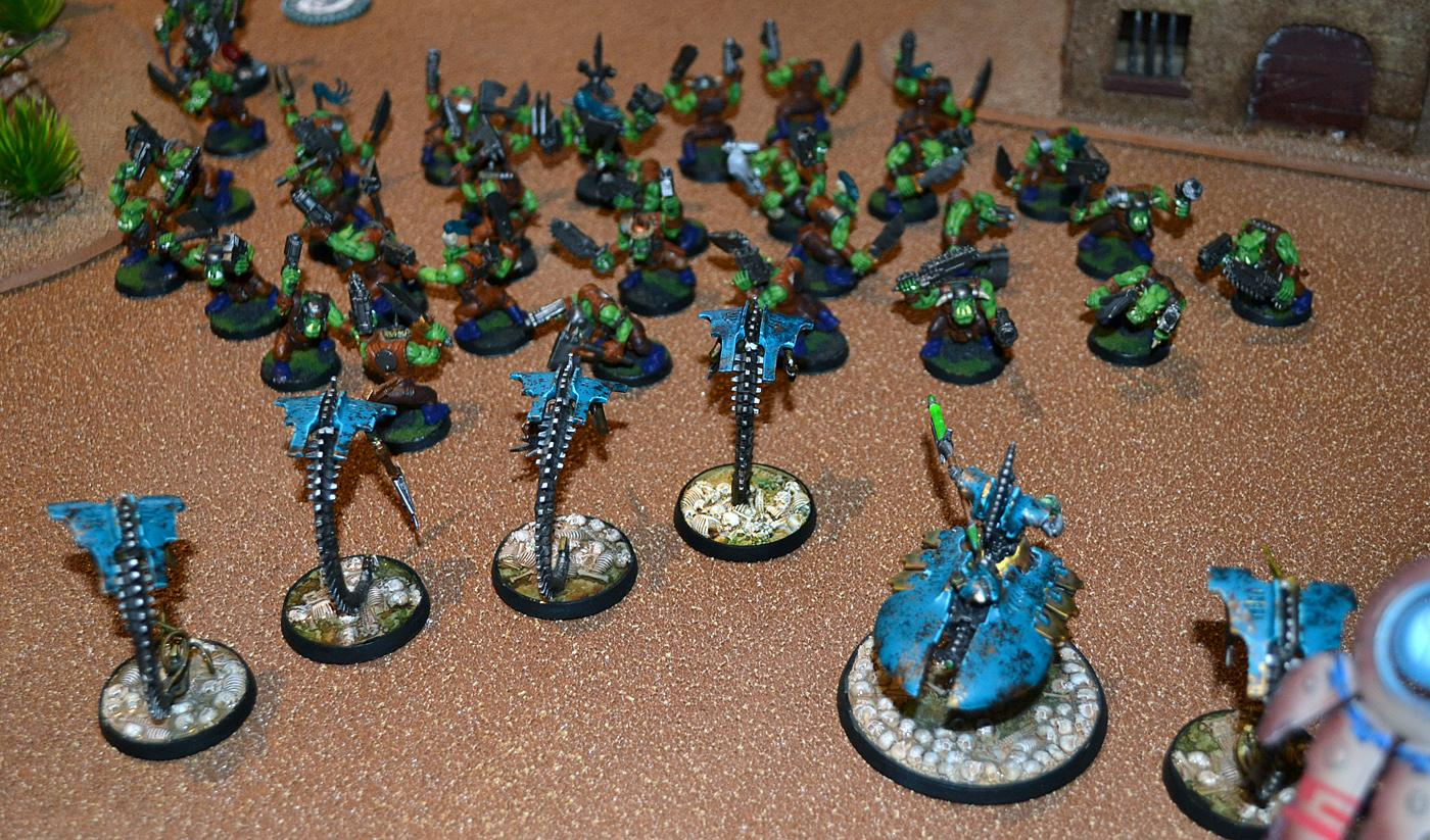 Necrons, Rumble In The Tundra, Warhammer 40,000, Wraiths