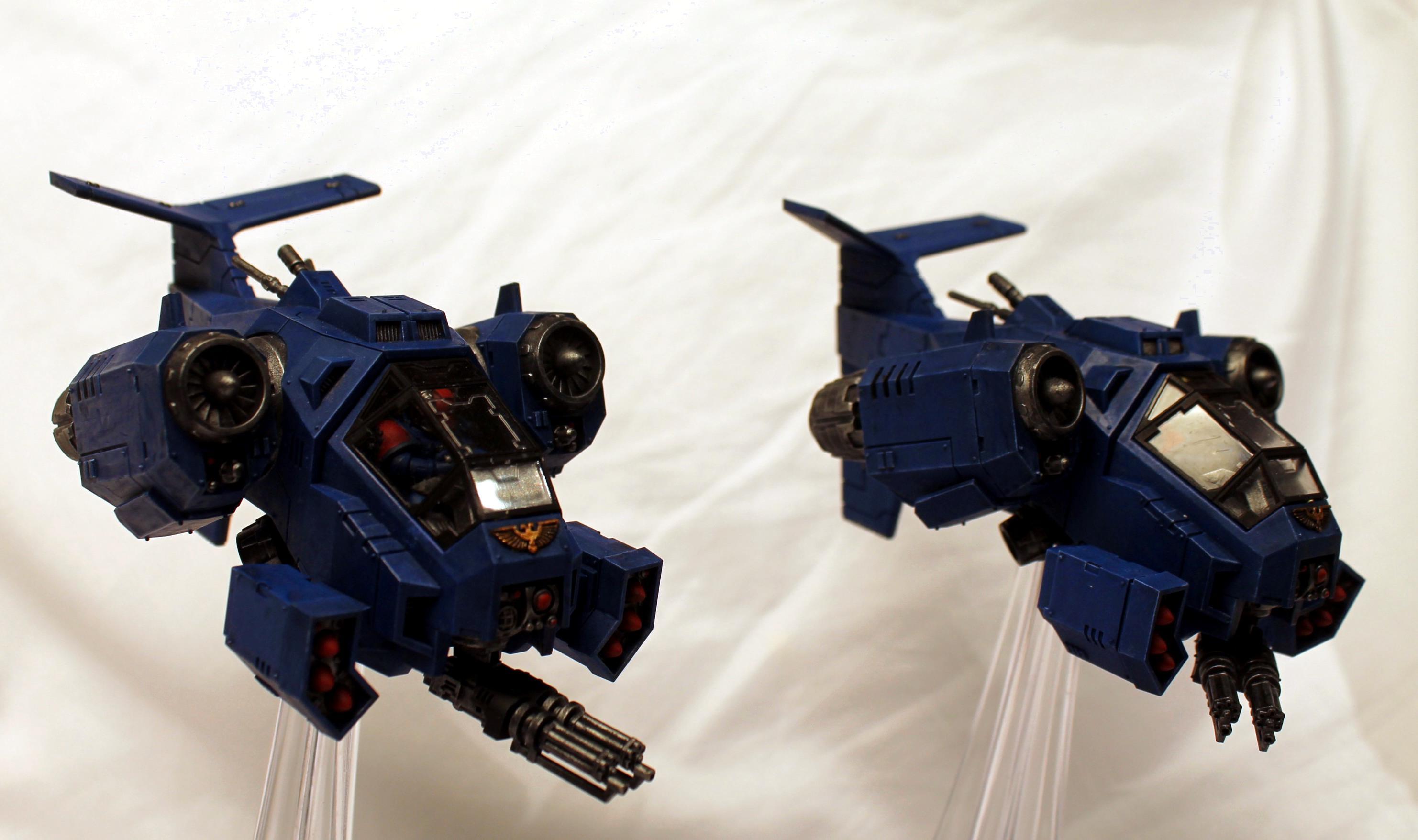 Conversion, Flyer, Space Marines, Storm Talon, Stormtalon, Ultramarines