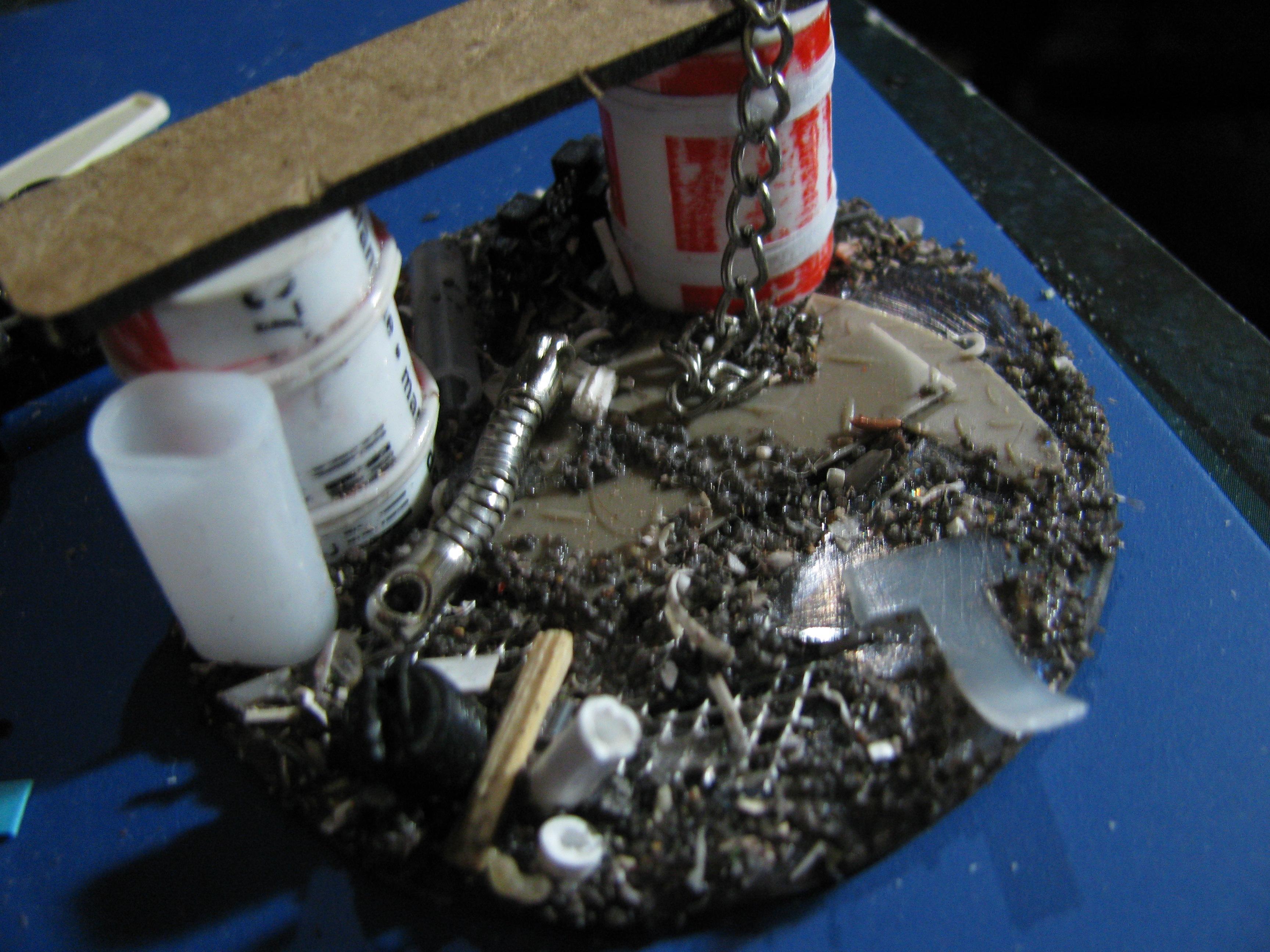 Comp, Junk Pile, Scratch Build, Terrain