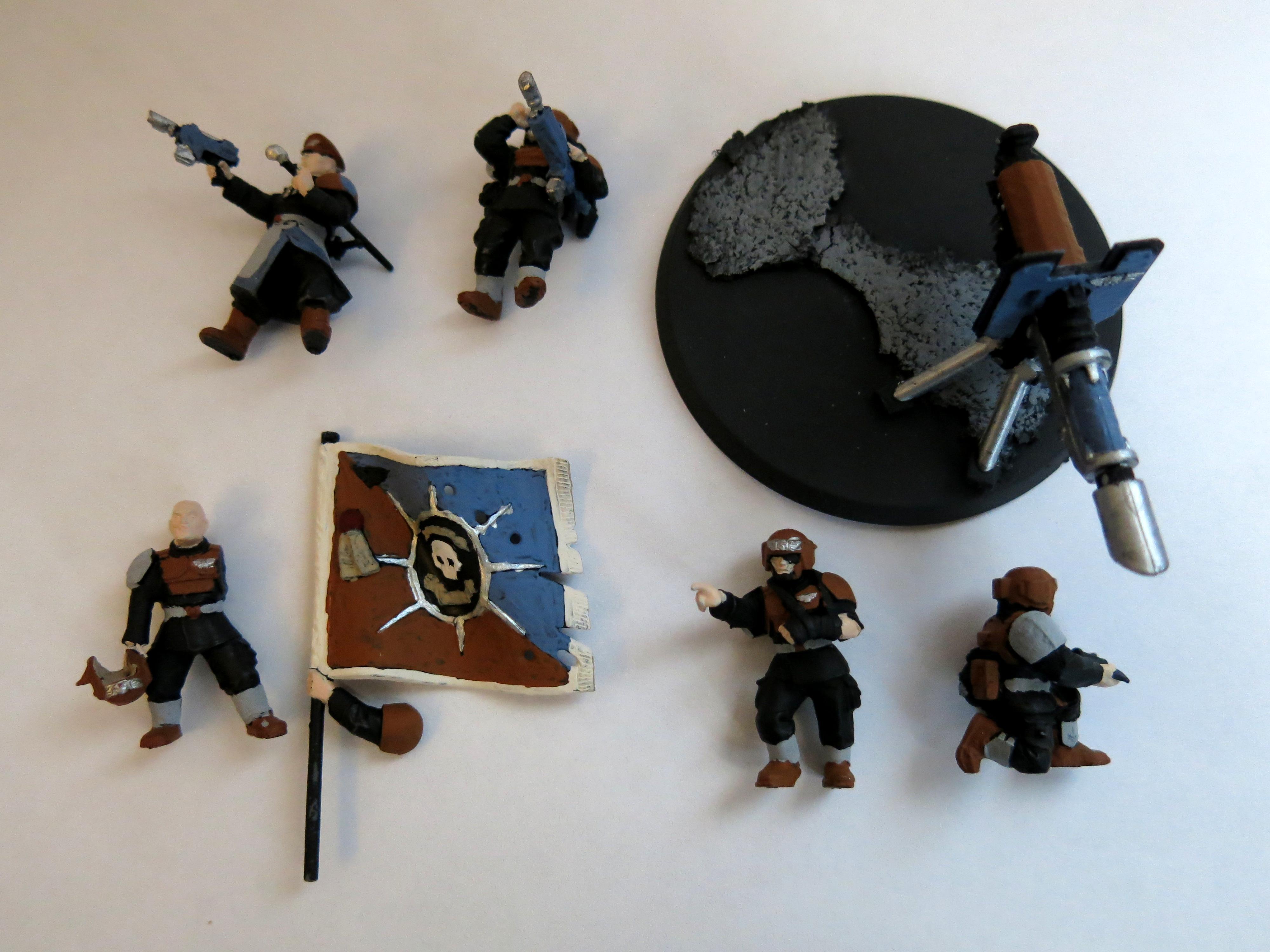 Harakoni, Warhawks, Company Command Squad