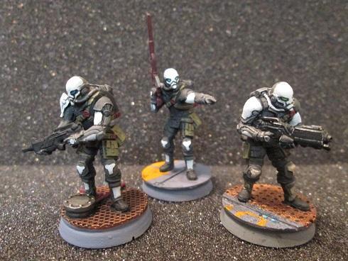 Corvus Belli, Haqqislam, Infinity, Kaplan, Mercenary