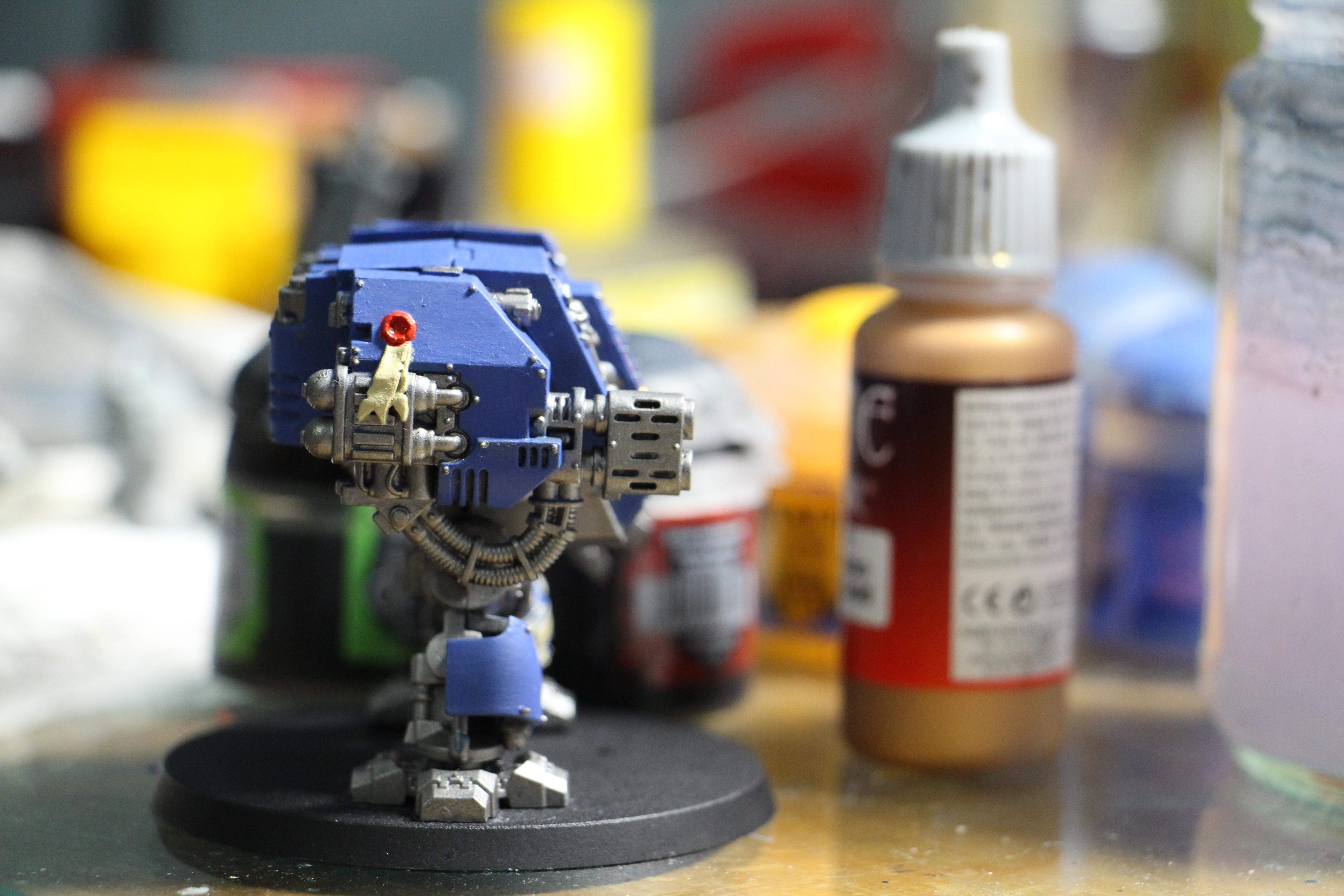 Space Marine Dreadnought, Space Marines, Ultramarines